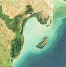 Kura Island Island in Aran Region, Azerbaijan