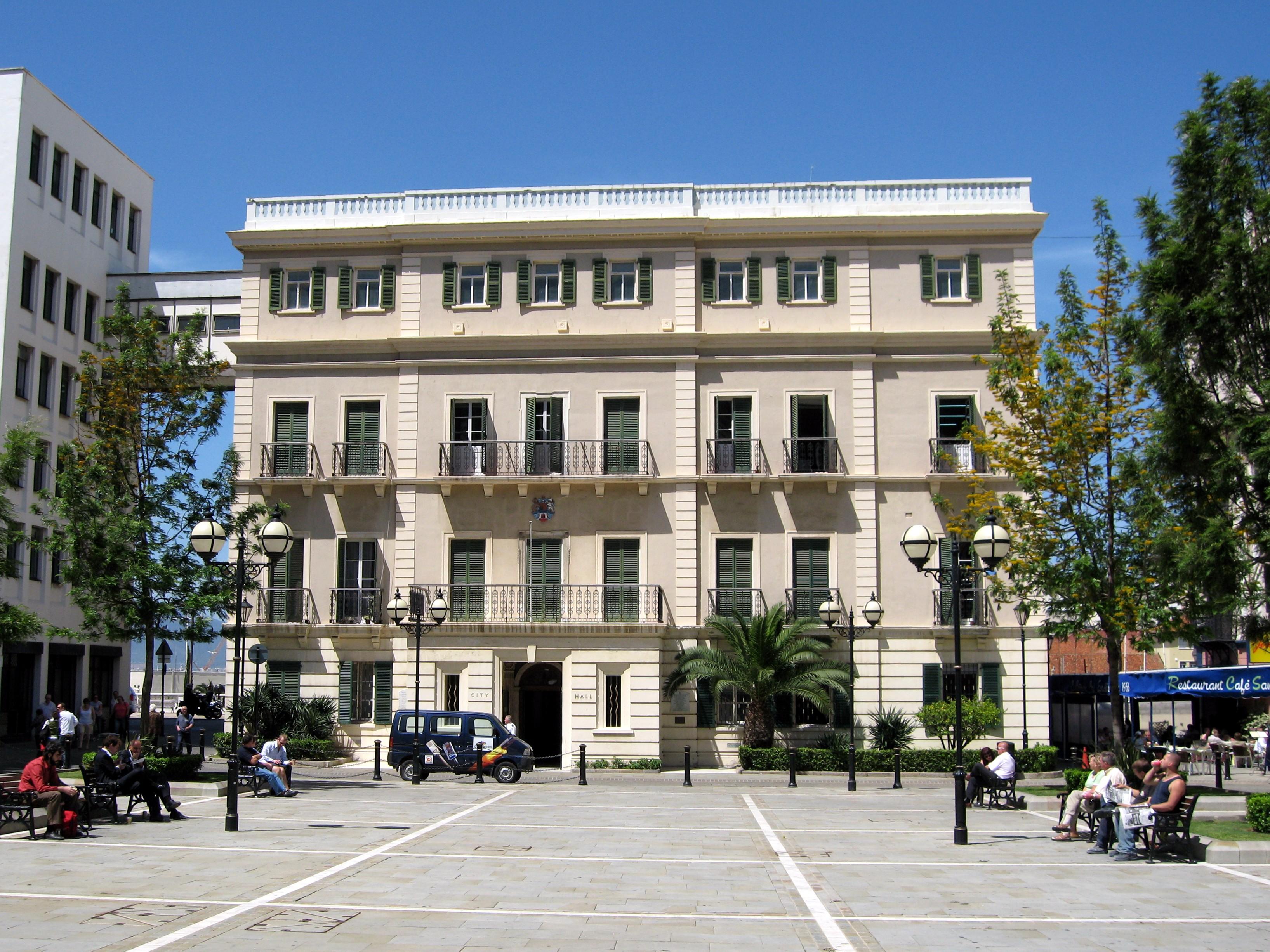जिब्राल्टर सिटी हॉल