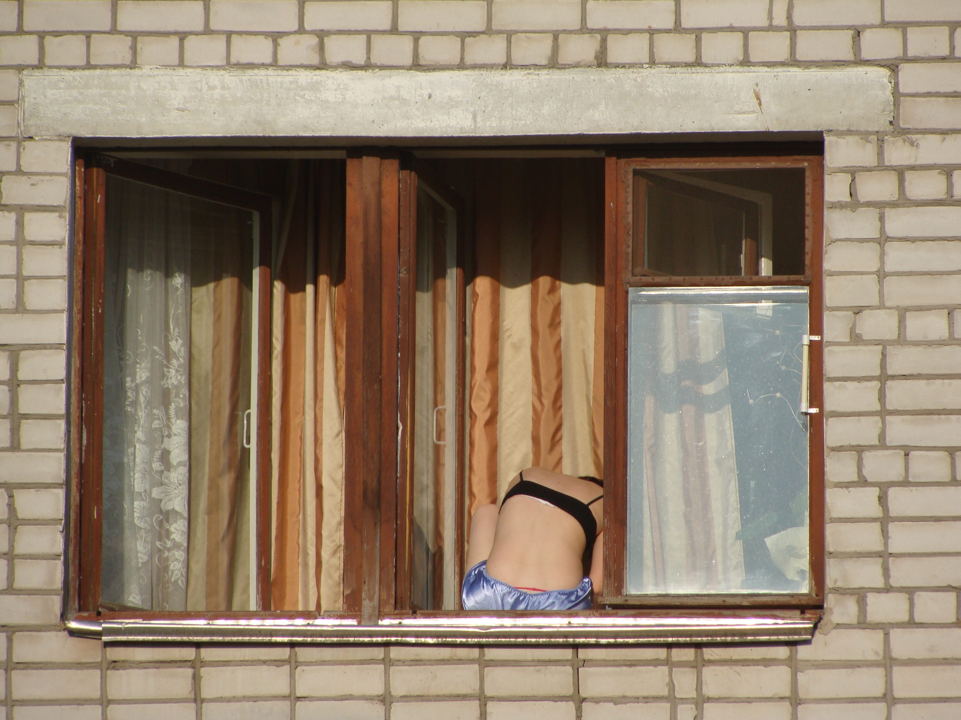 File:Girl Sitting On The Windowsill (01).JPG