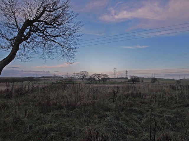 Gleniffer Braes at Dusk - geograph.org.uk - 1582466