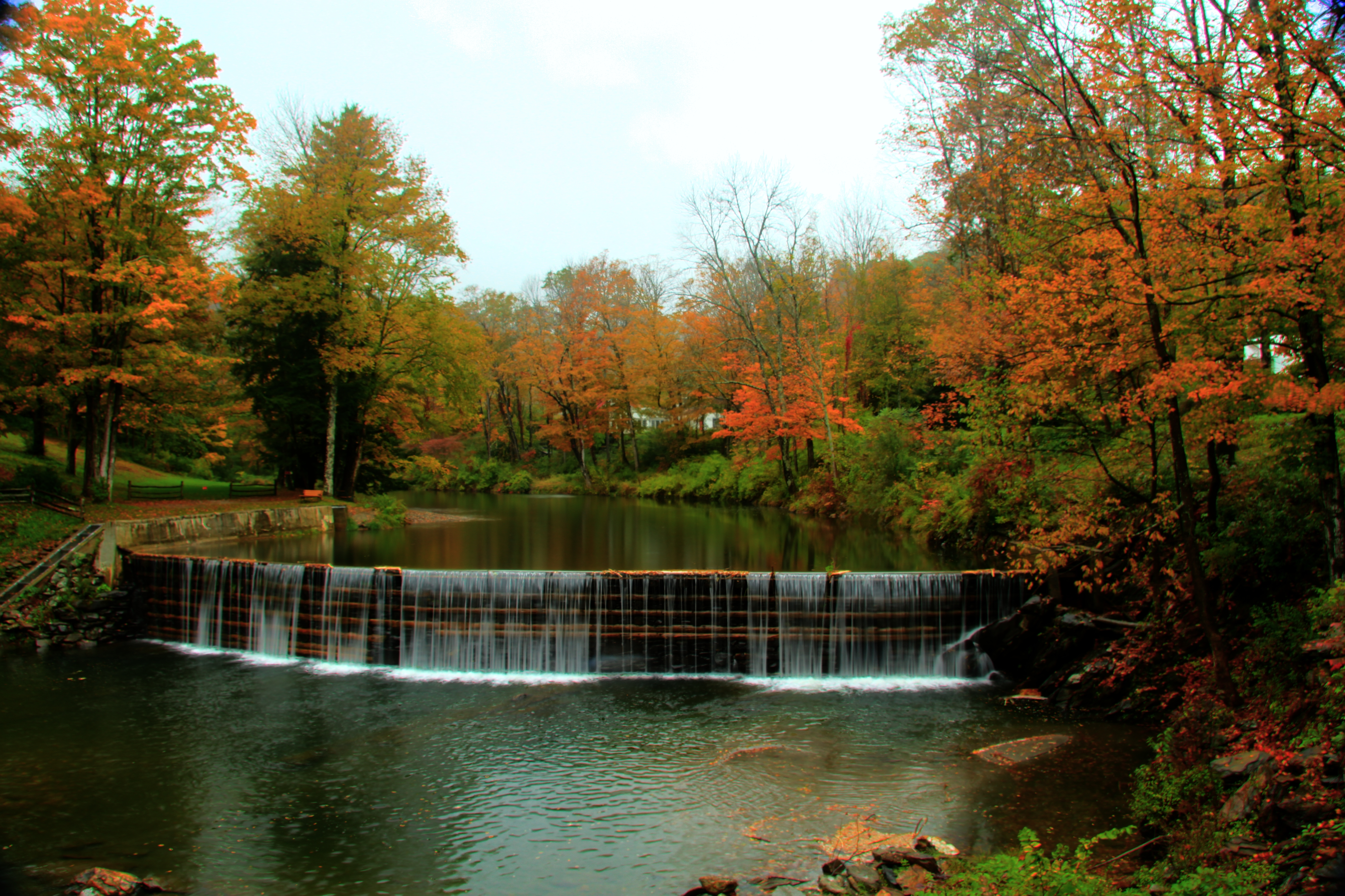 File Green River Crib Dam With Fish Ladder Guilford Vt