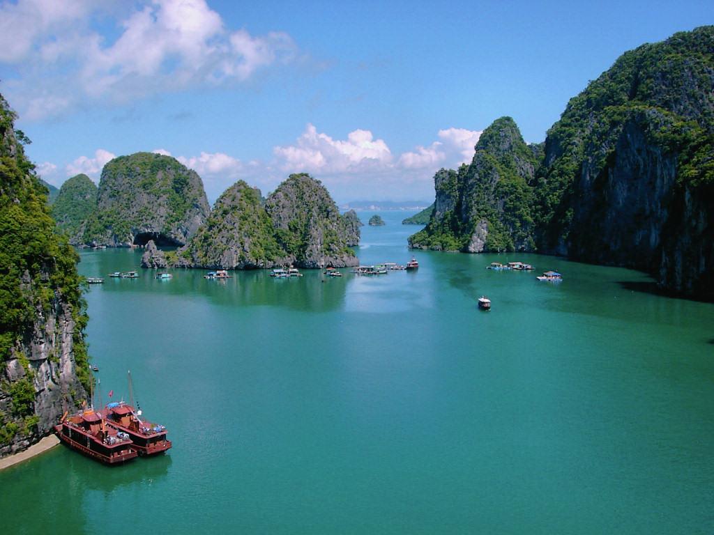 Halong Bucht als Teil unserer Vietnam Rundreise