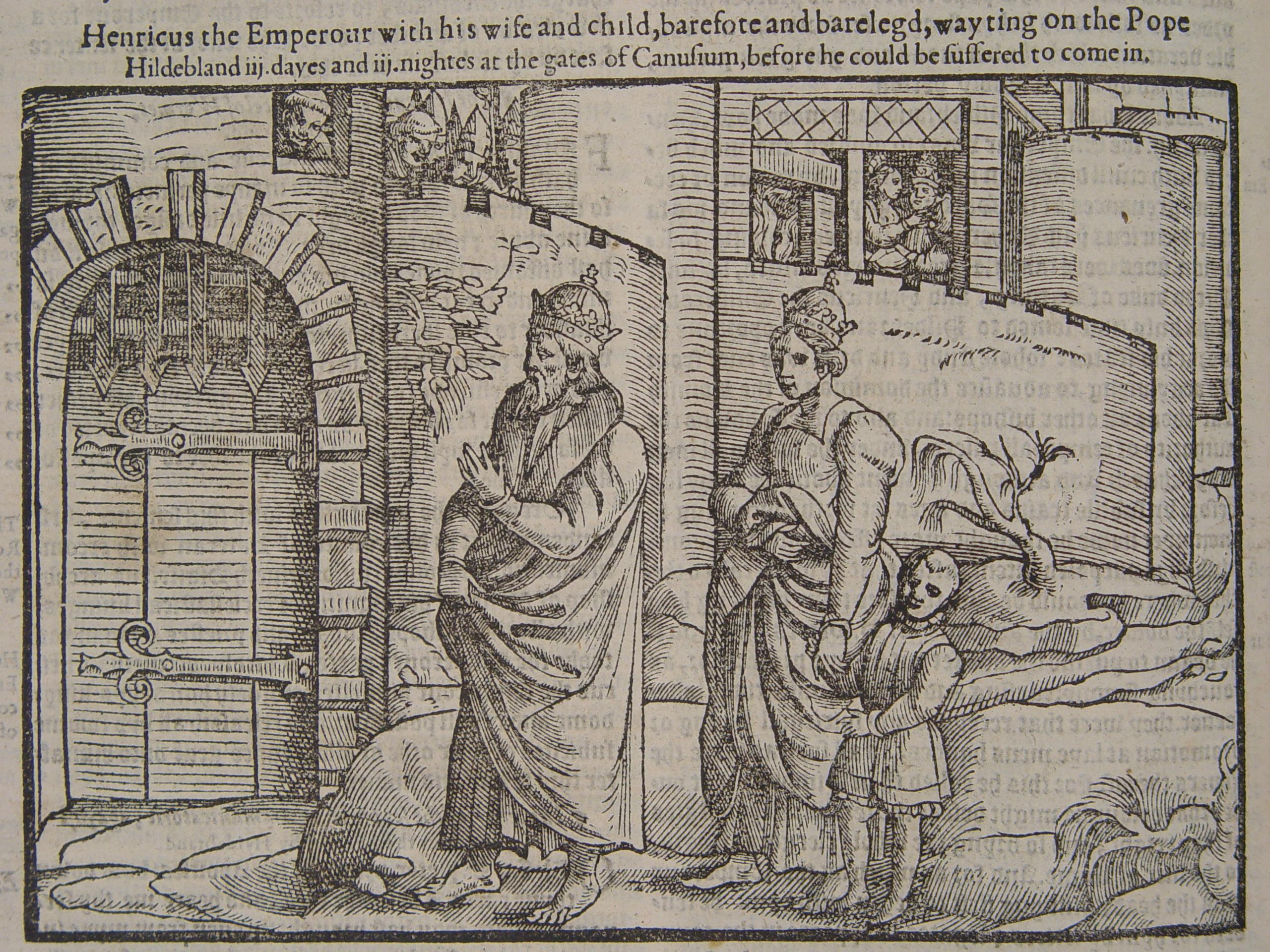 File:Henry IV awaited the pope outside Canossa.jpg ...