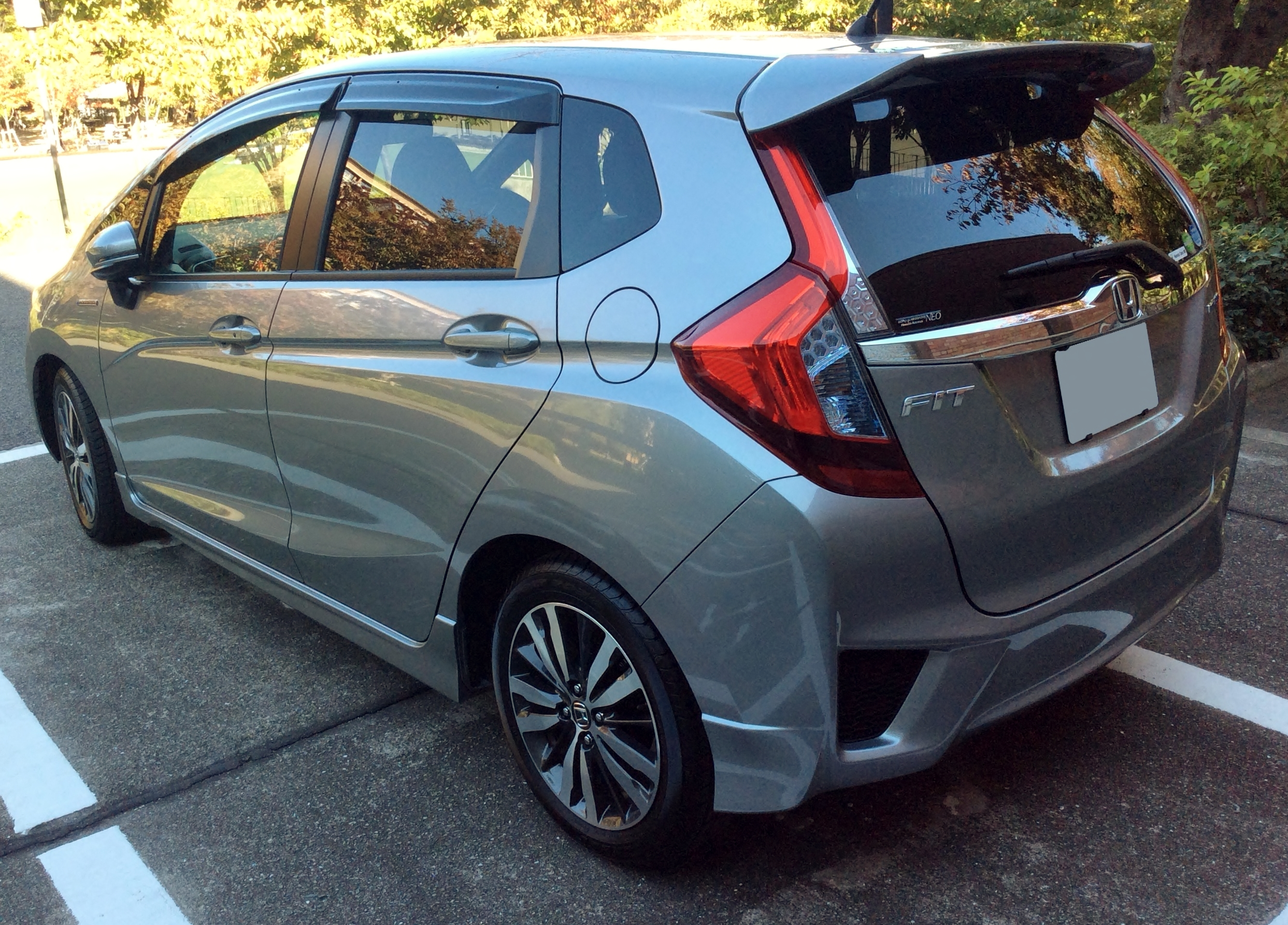 Honda Fit Paint Code Location