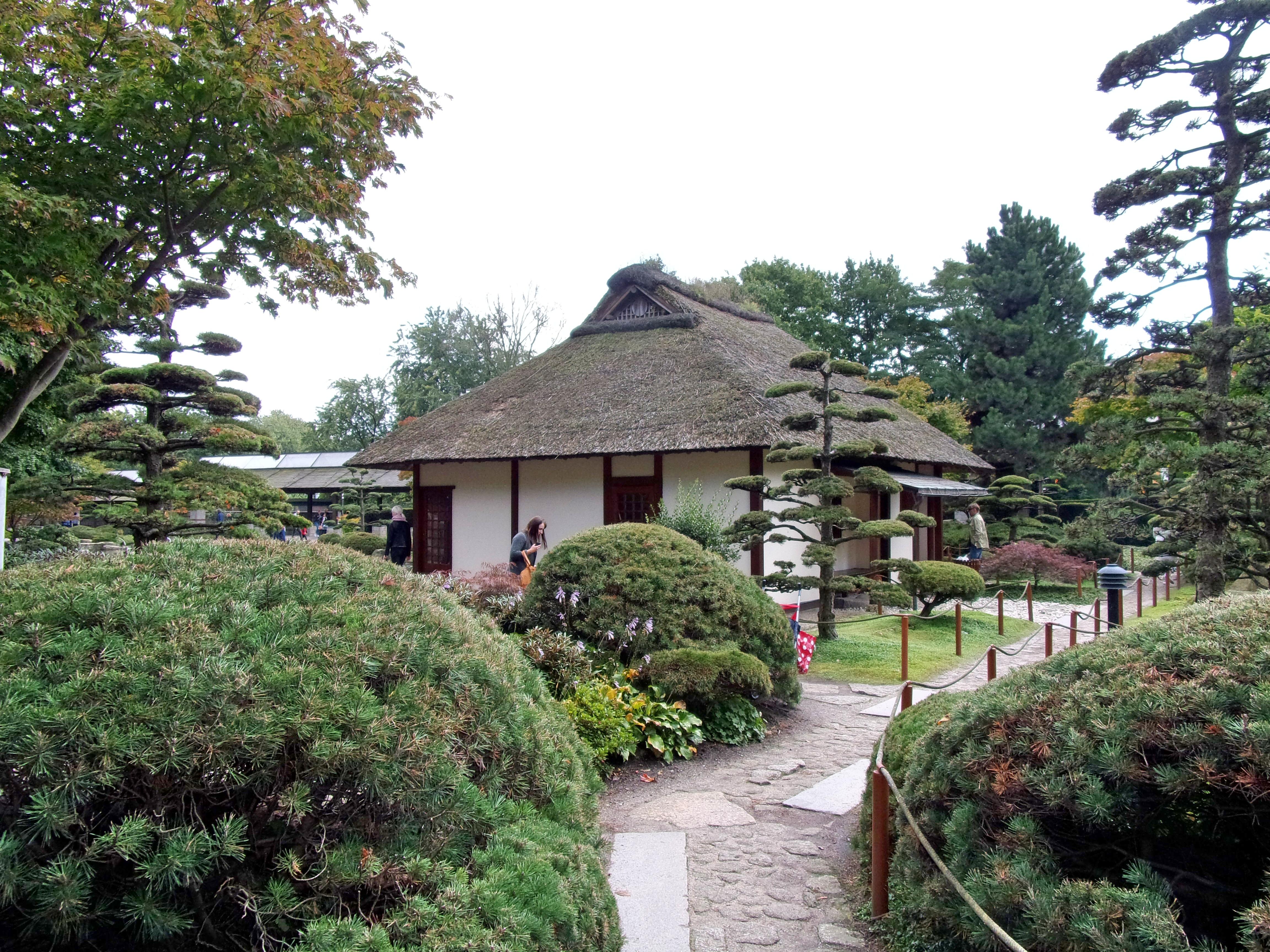 File:Japanischer Garten In Planten Un Blomen Mit Teehaus