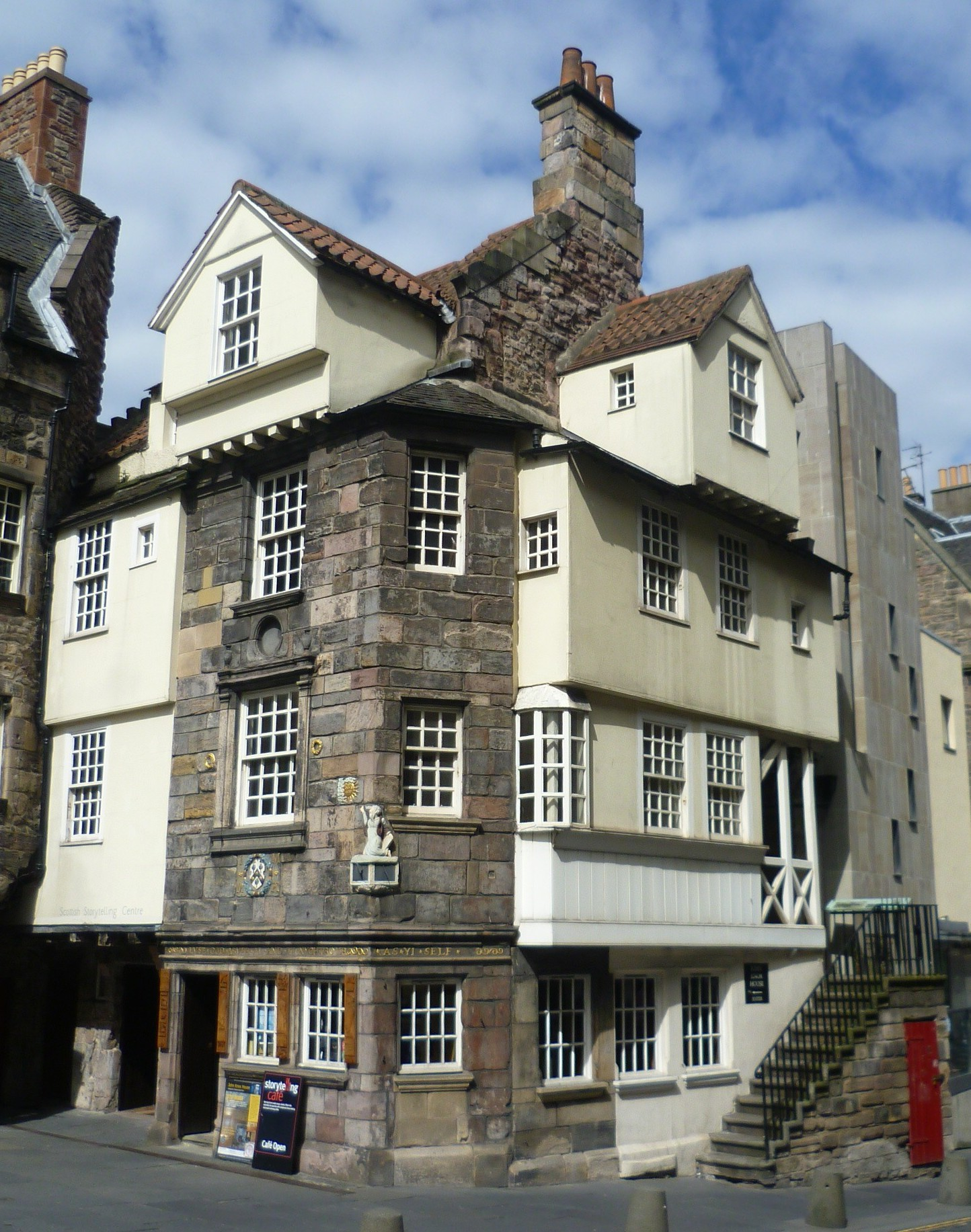 File John Knox 39 S House High Street Edinburgh Jpg Wikipedia