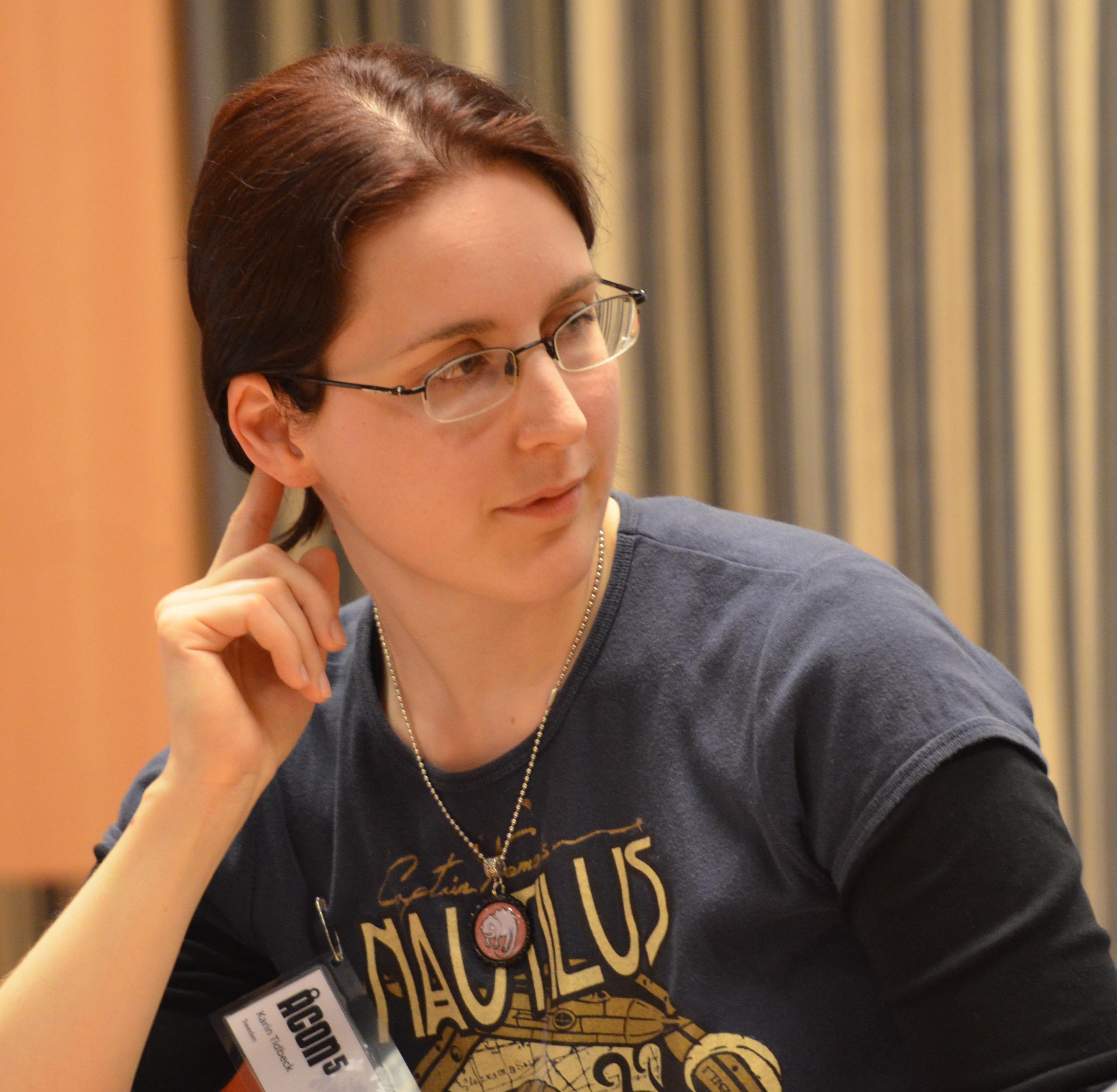 Depiction of Karin Tidbeck