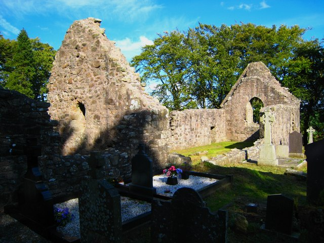 Killevy Old Church - geograph.org.uk - 564089