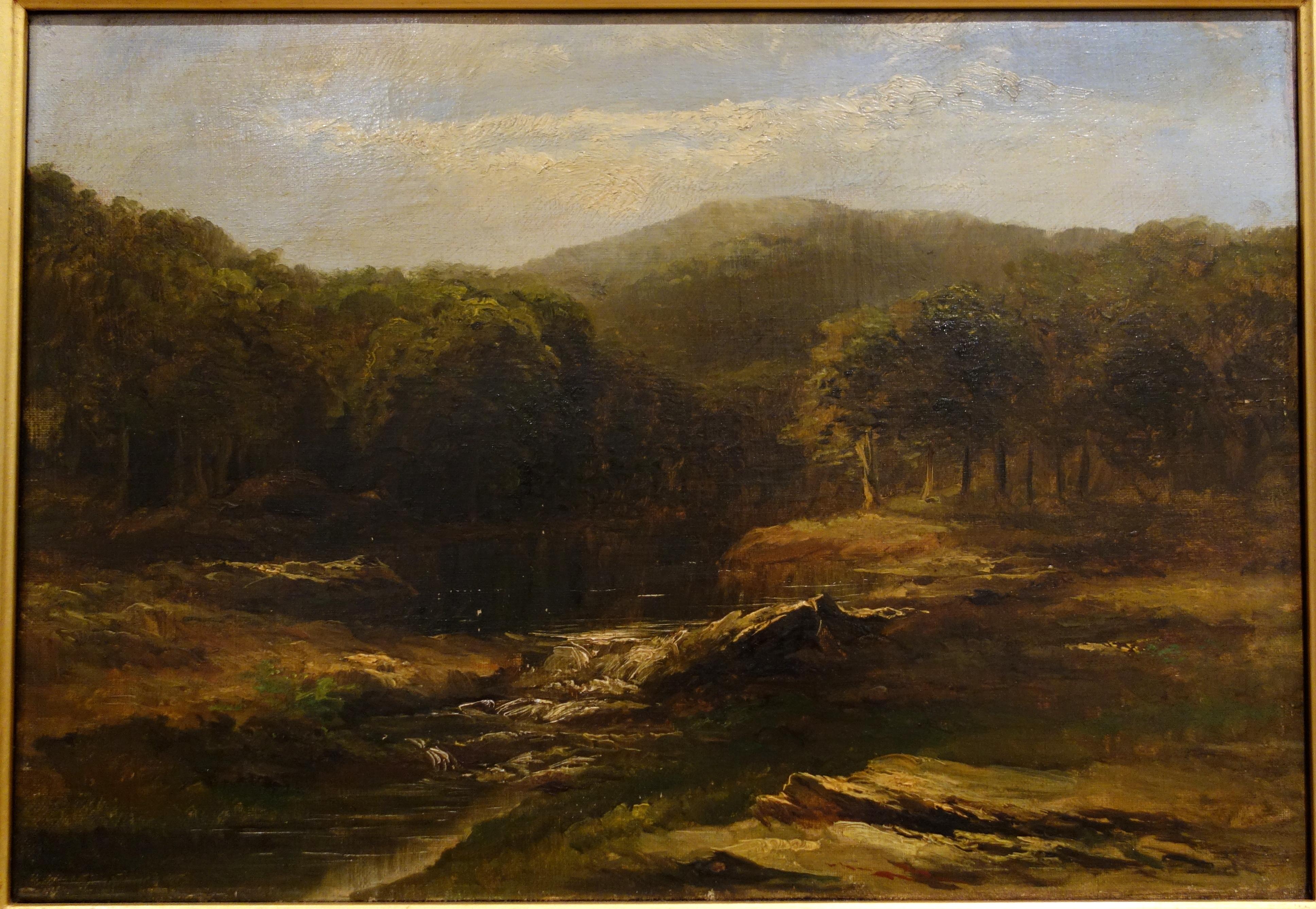 File Landscape By Homer Dodge Martin Undated Oil On