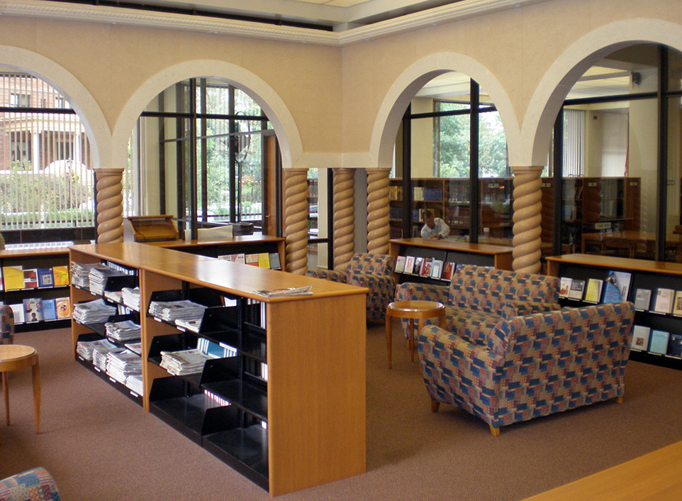 Study Room Hillman Library