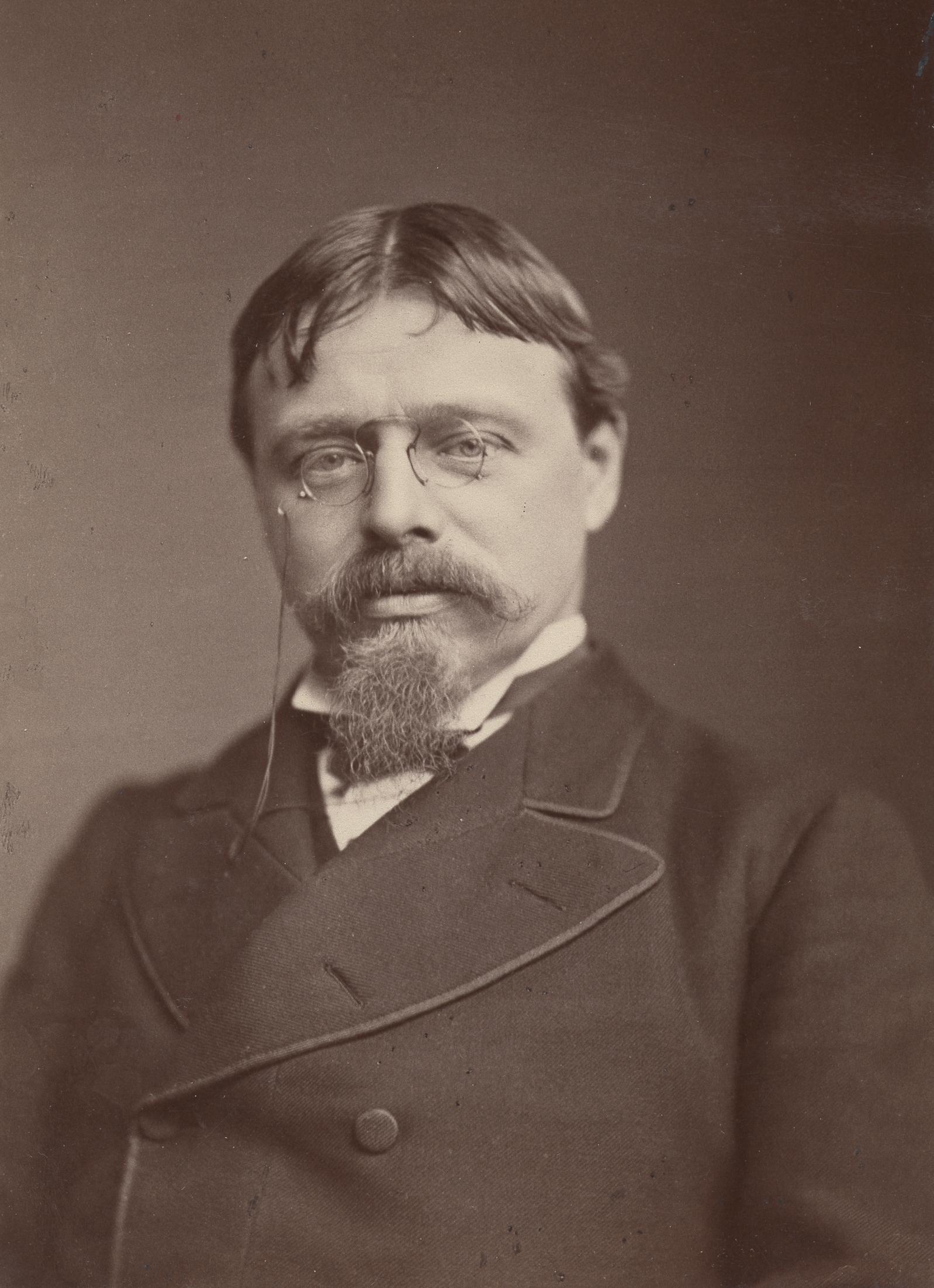 Depiction of Lawrence Alma-Tadema