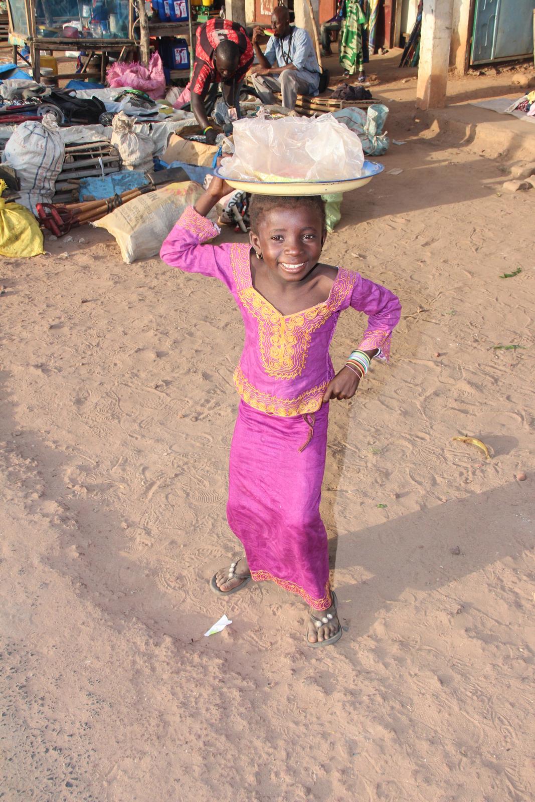 Gambia Little Girl