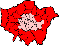 Map Outer London.Outer London Wikipedia