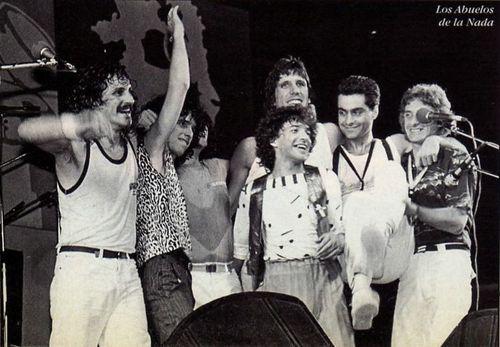 Los Abuelos de la Nada en 1983.