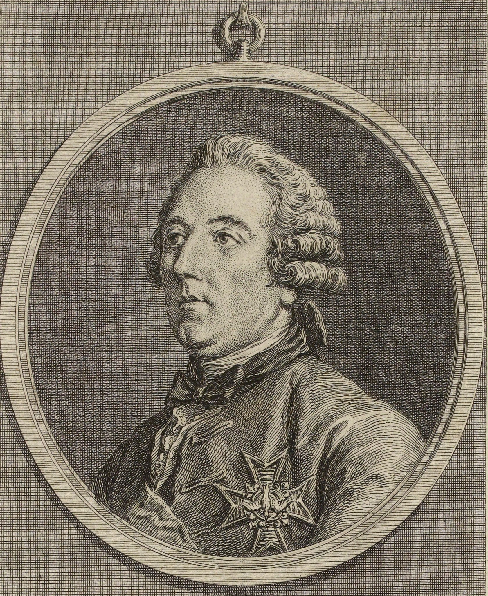 Portrait par Charles-Nicolas Cochin