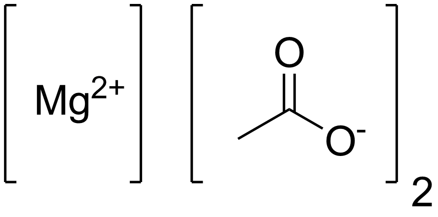 Magnesium Acetate Wikipedia