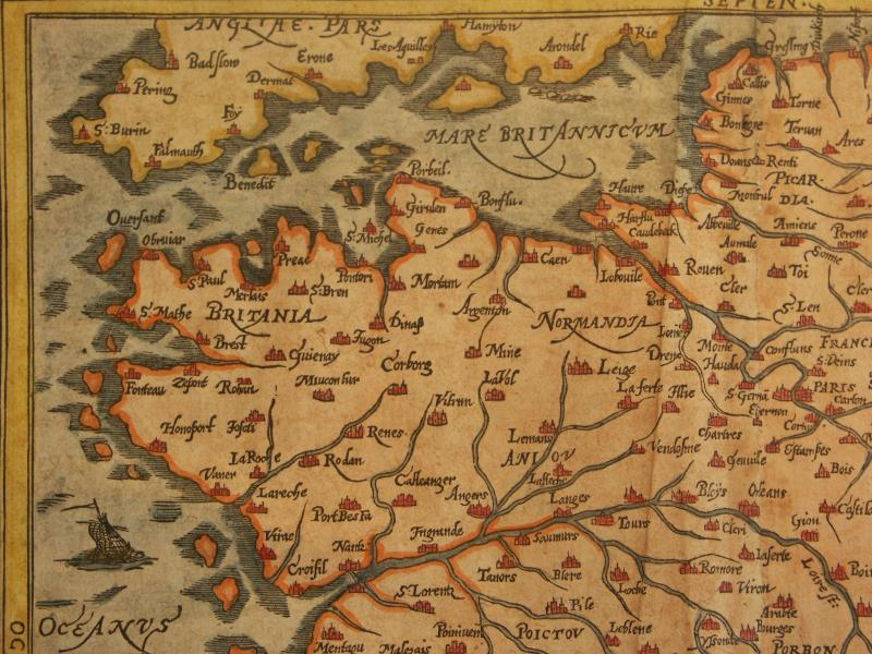 Map Of North West France.File Map Of France North West 1600 Jpg Wikimedia Commons