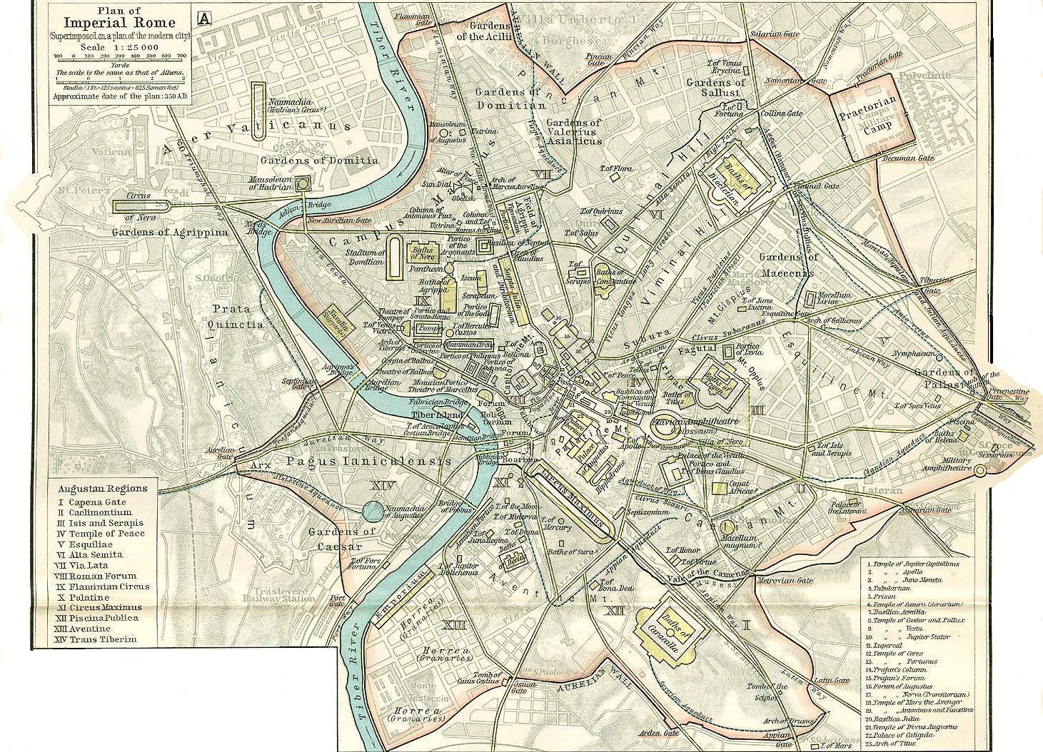 FileMap of Imperial Rome by William R Shepherd died 1934jpg