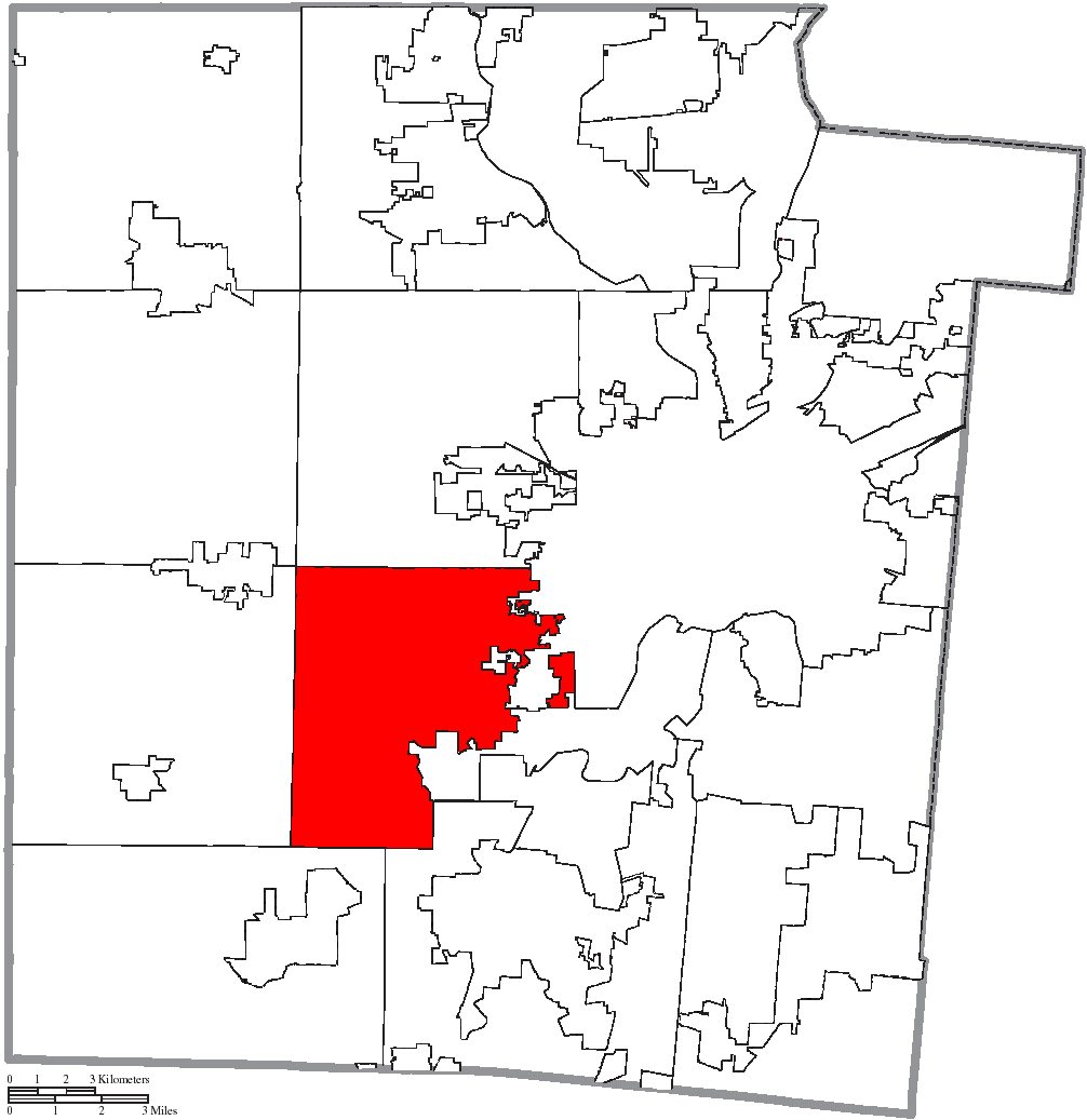 File Map Of Montgomery County Ohio Highlighting Jefferson Township