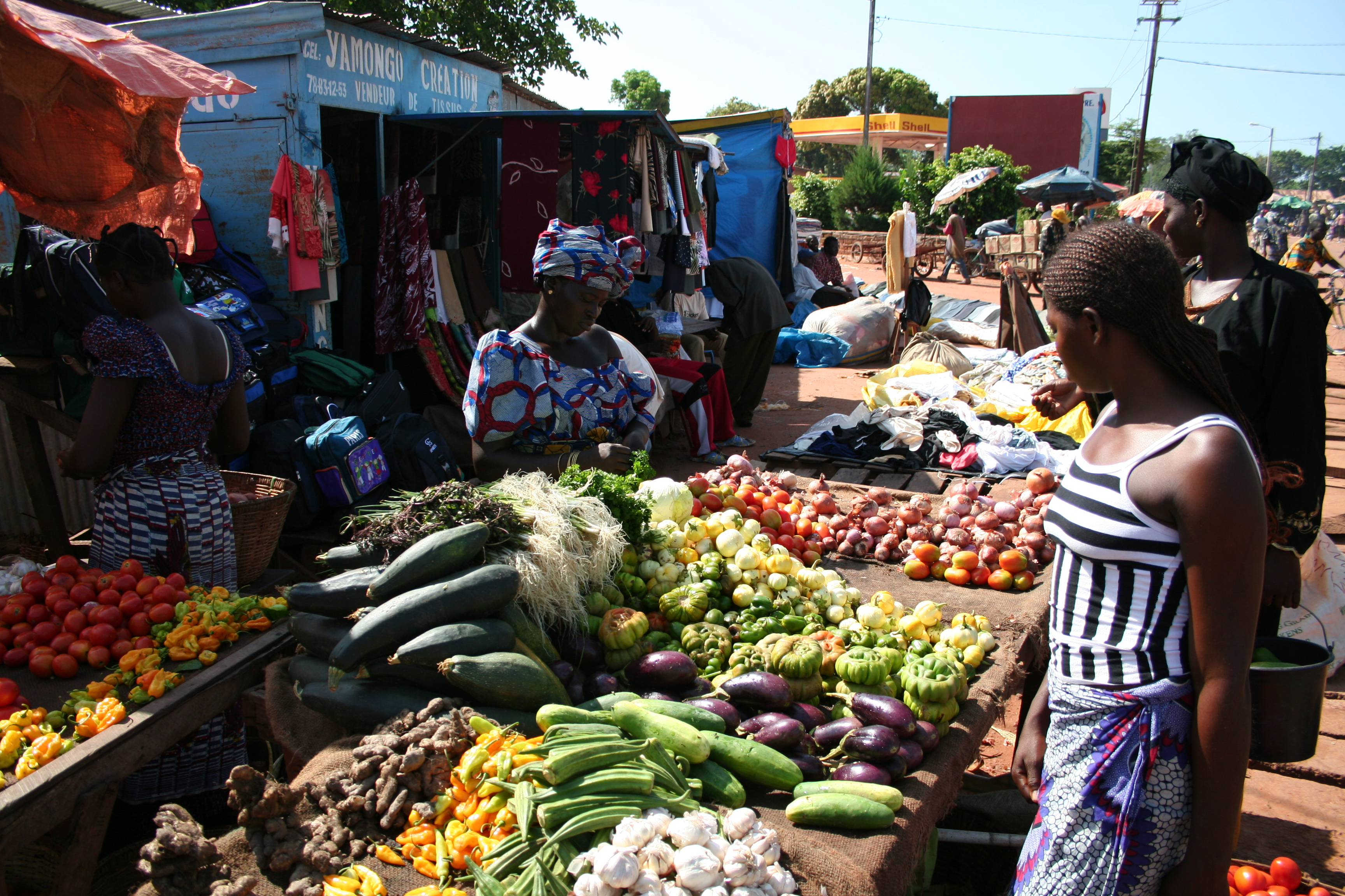 Attending a Farmers Market at the end of the day enhances your chances of bargains