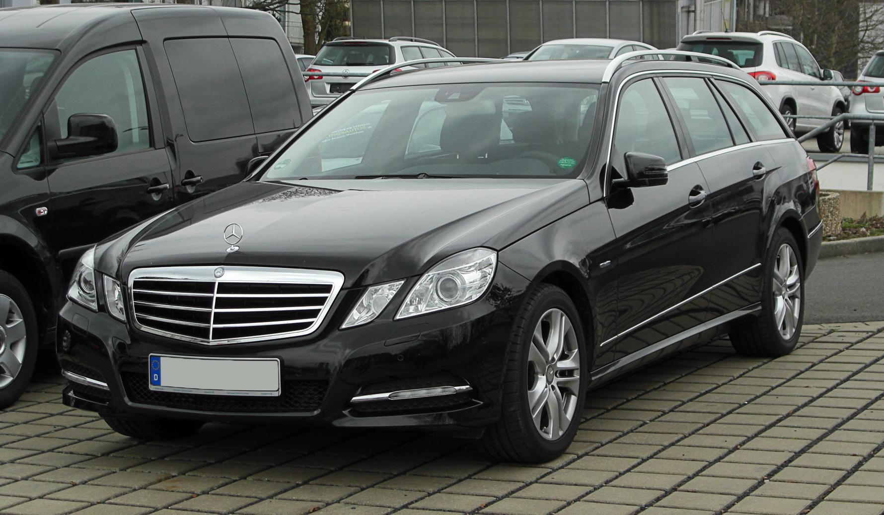 File Mercedes Benz E 200 Cdi Blueefficiency T Modell