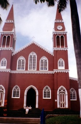 This is a picture of the metal church in Greci...