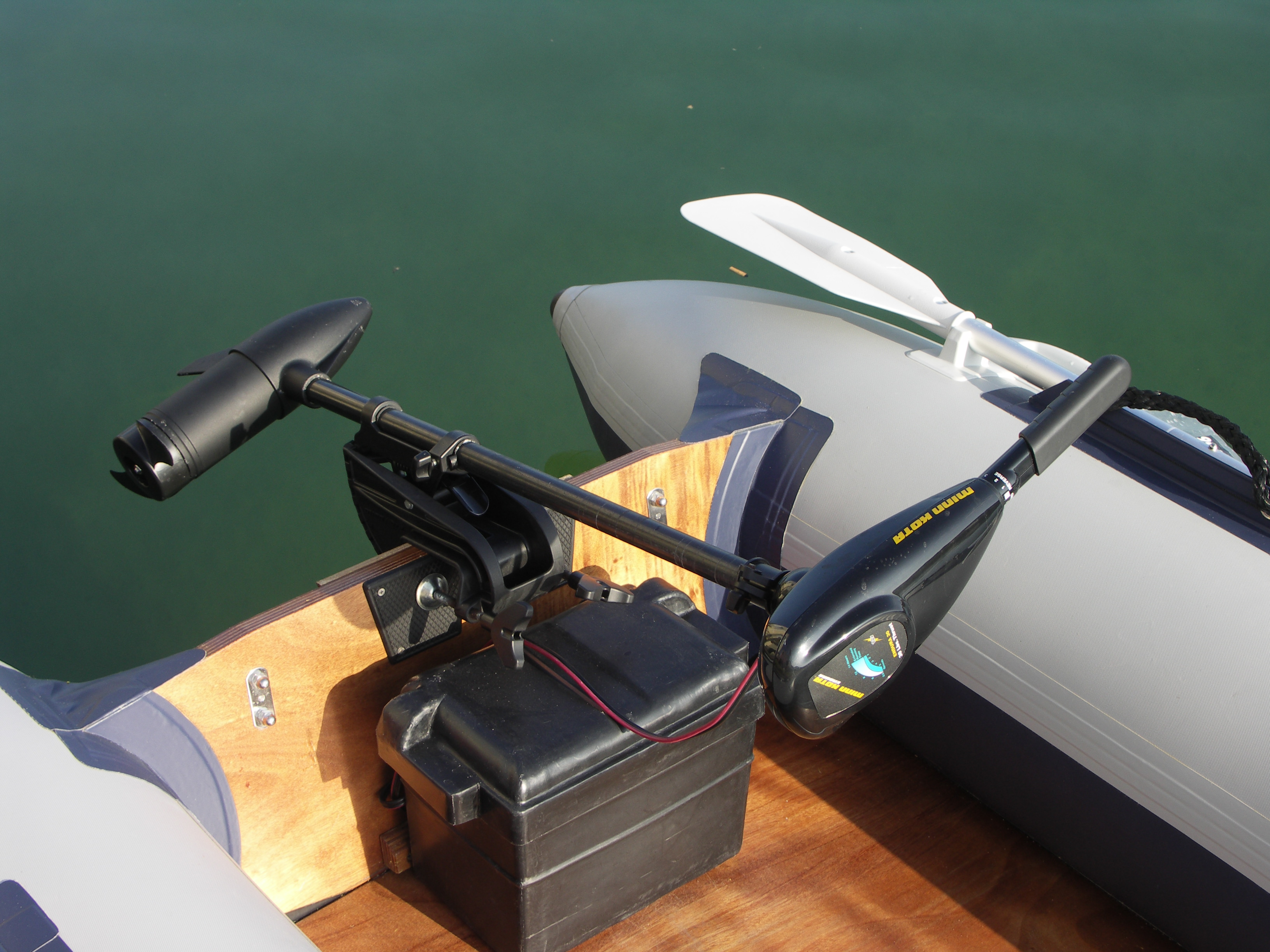 Custom Steering For Electric Trolling Motor Bulldog