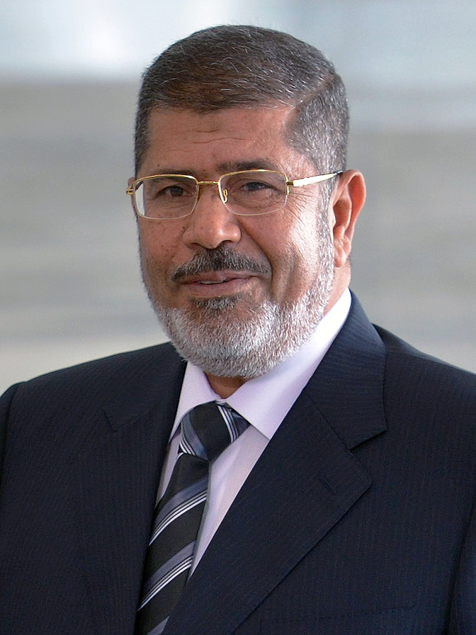 Mohammed Morsi Portrait Suit and Tie