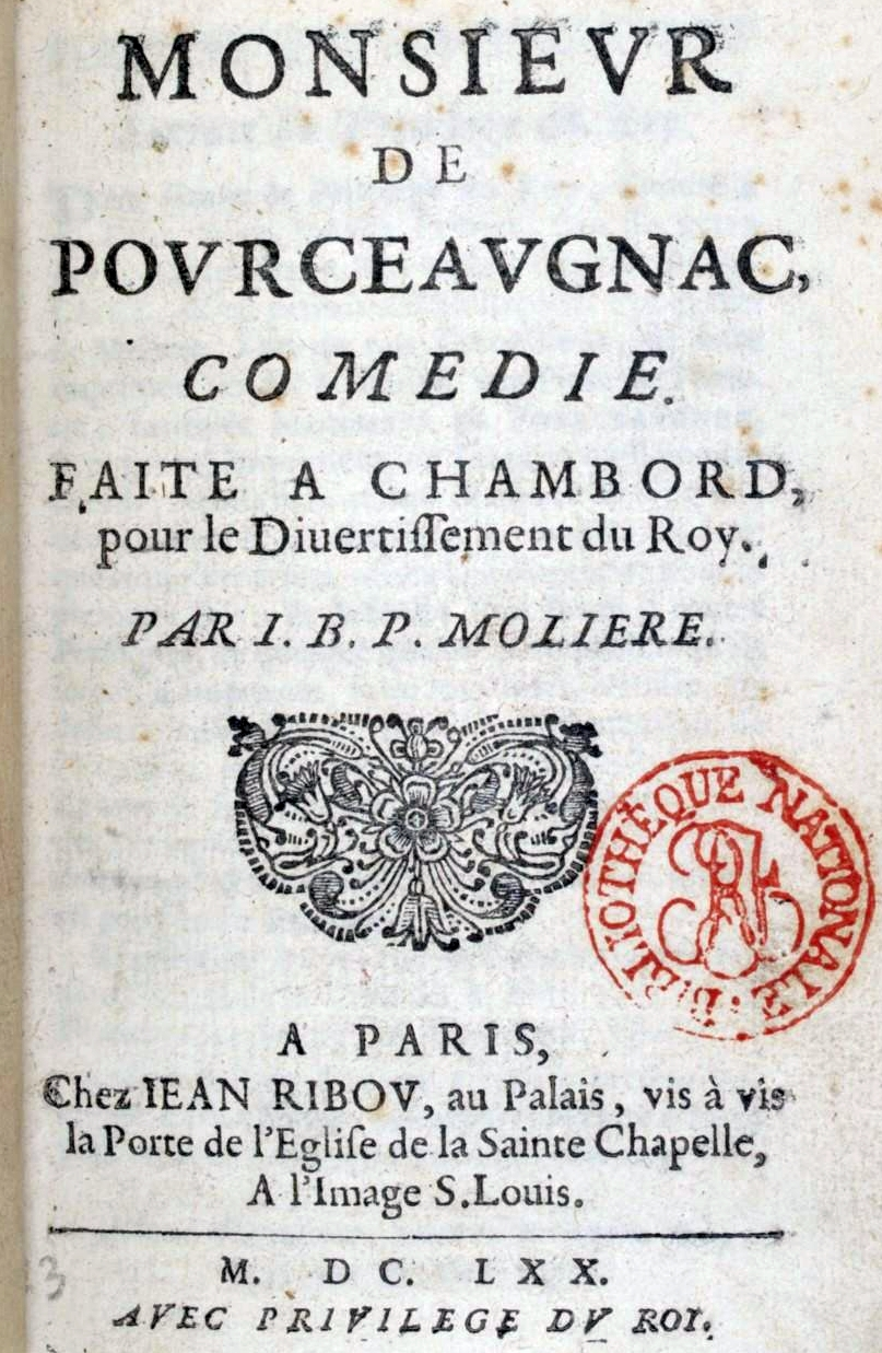 MONSIEUR DE POURCEAUGNAC EPUB DOWNLOAD