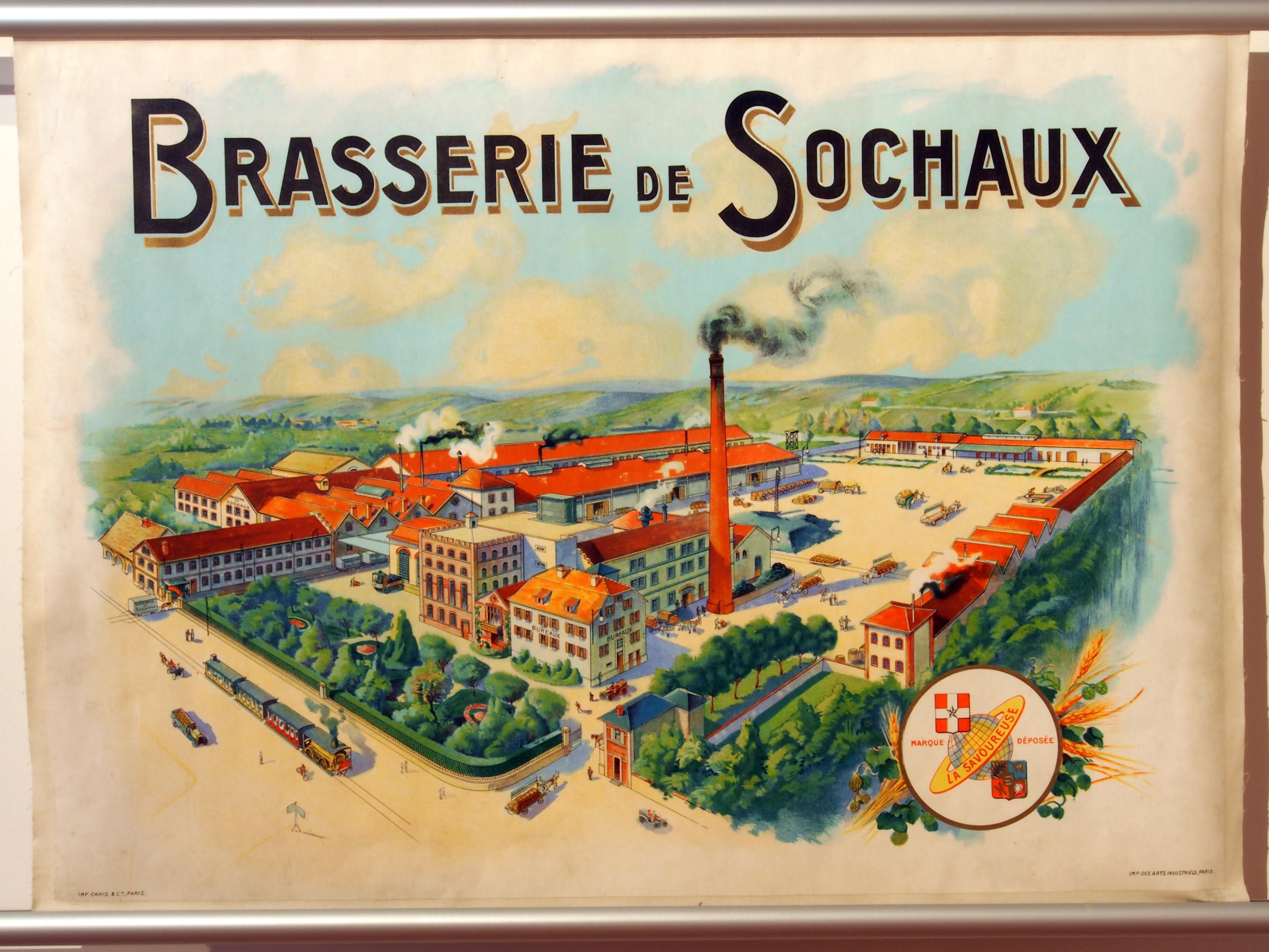 File:Musée Européen de la Bière - beer advertising posters ...