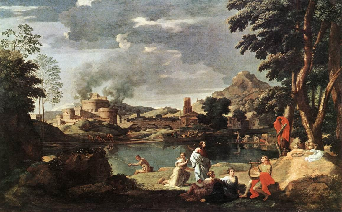 an analysis of the classical art of nicolas poussin Nicolas poussin the birth of venus  multiple meanings and rich ambiguity into his paintings of classical  for the philadelphia museum of art.
