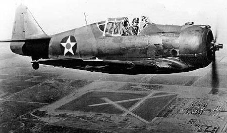 Cours d'histoire avions US exotiques  North_American_P-64_in_flight_061024-F-1234P-028