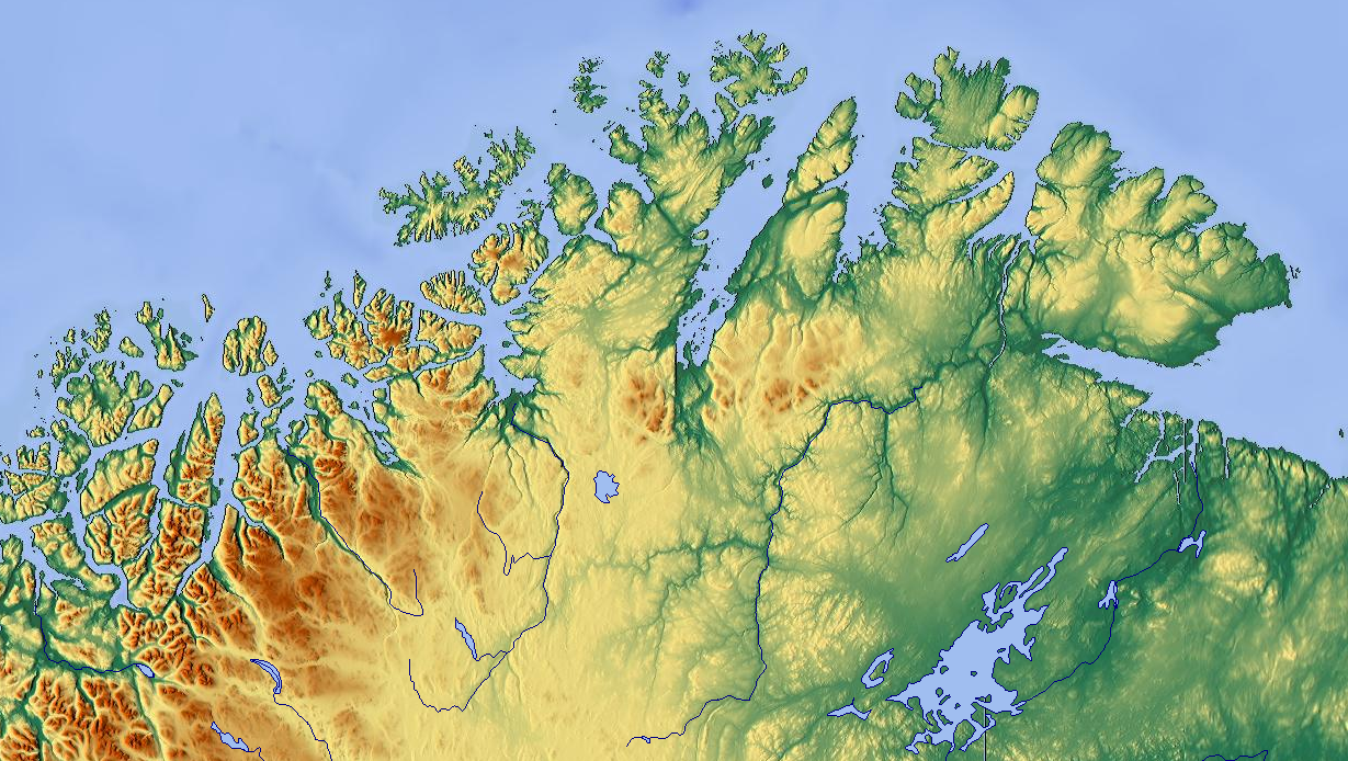 FileNorth Norwaypng Wikimedia Commons - Norway topographic map