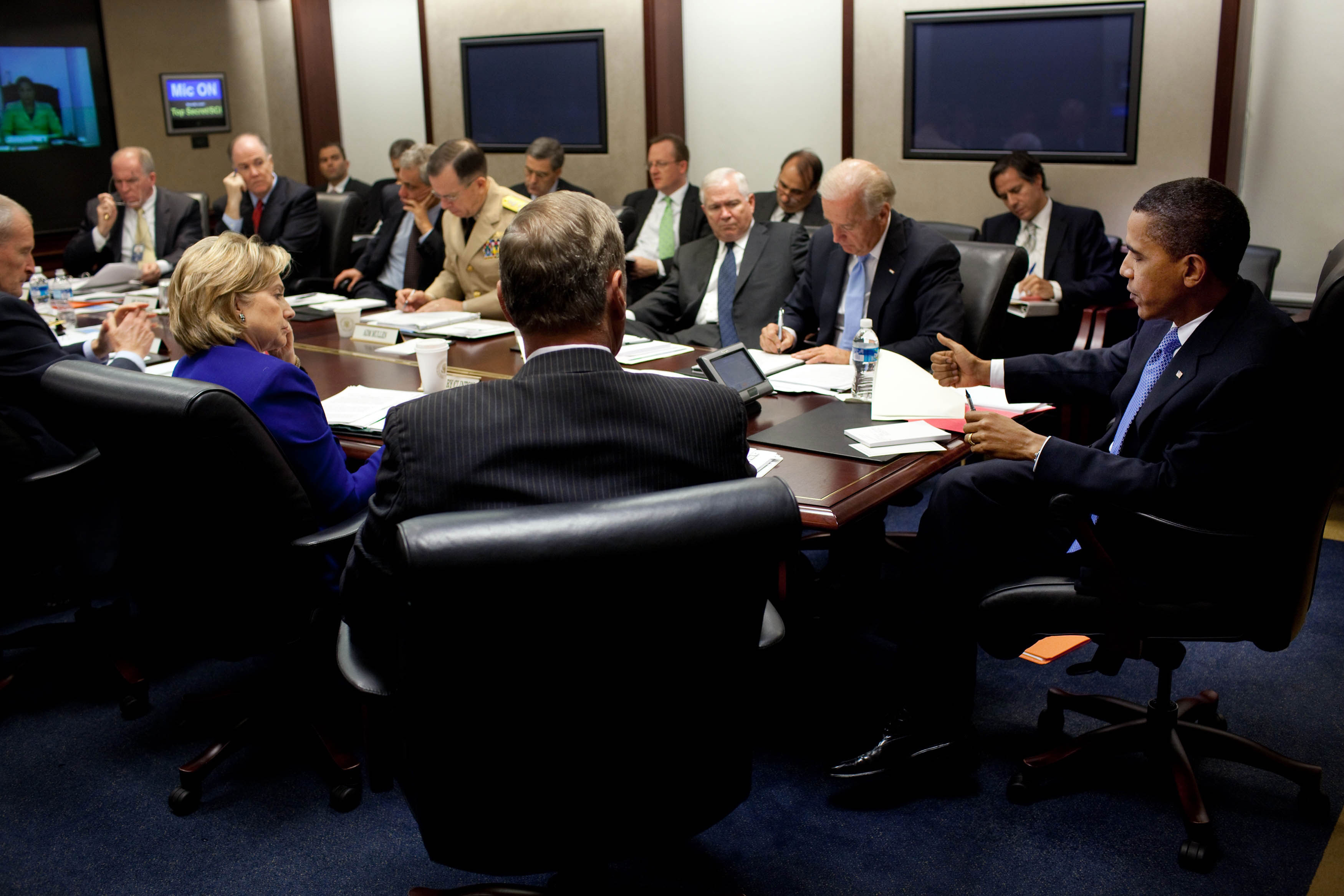 Situation Room White House Events