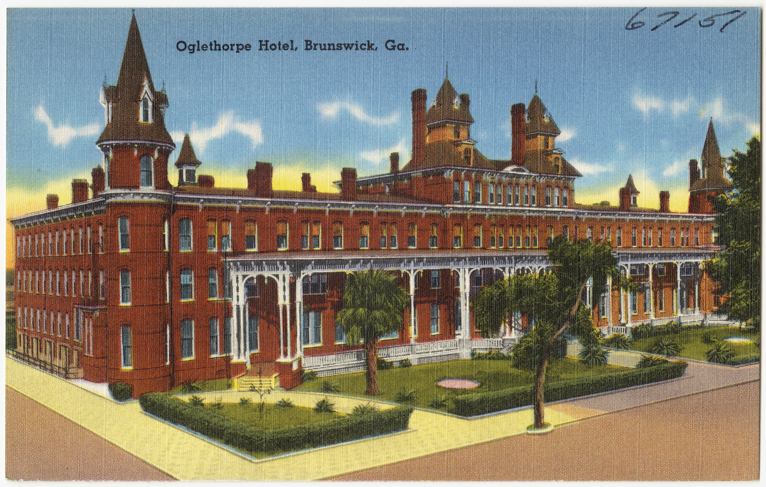 Hotels In Boston >> File:Oglethorpe Hotel, Brunswick, Ga. (8367042937).jpg ...