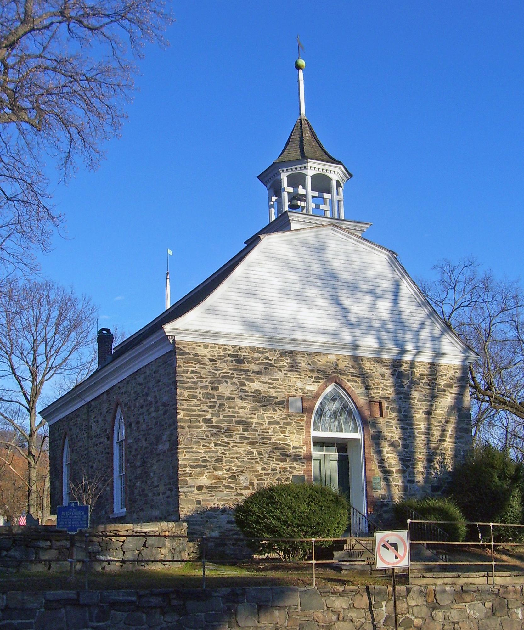 Sleepy Hollow Church near Tarrytown N.Y.