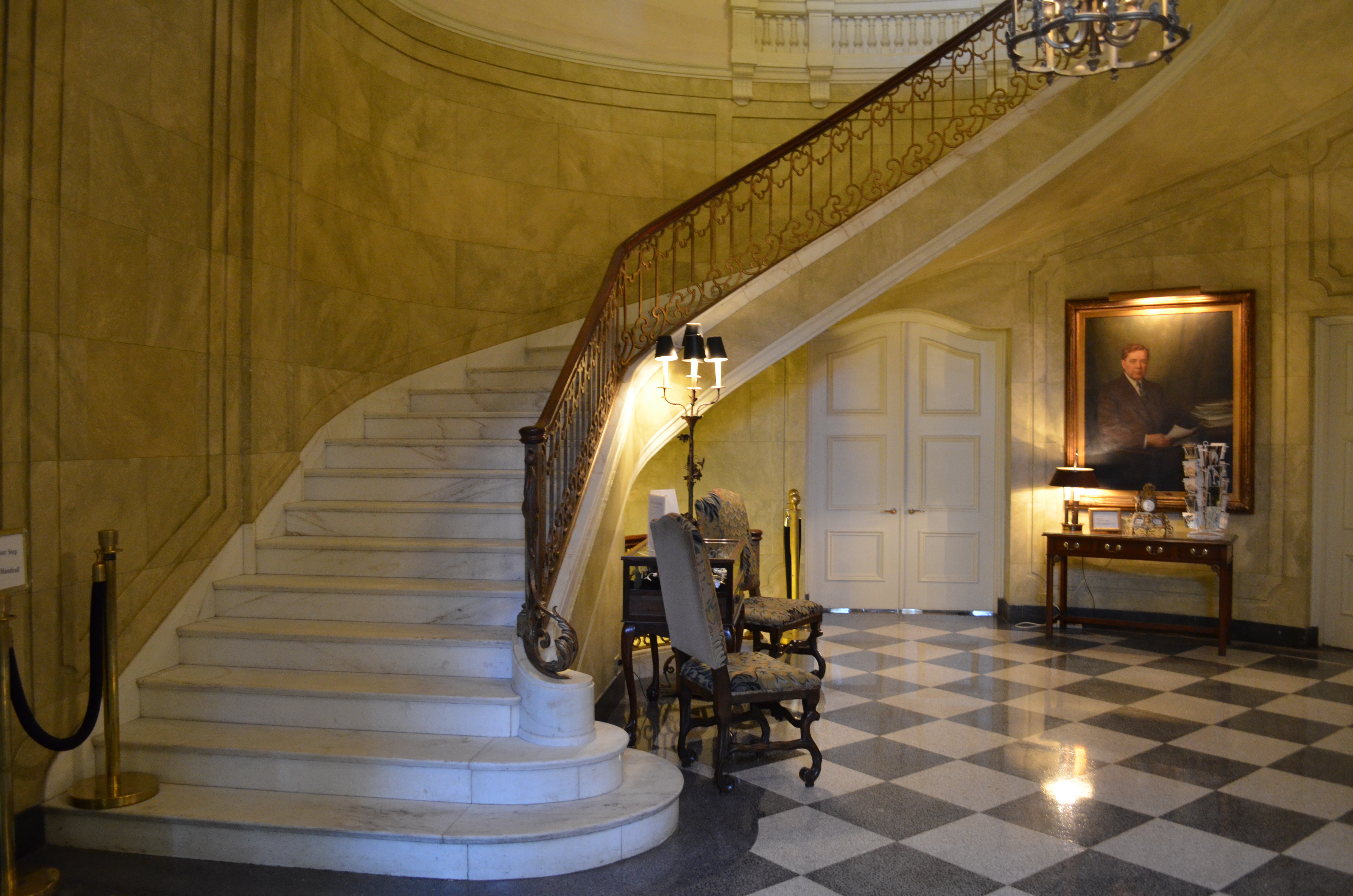 Mansion Foyer Zoning : File old louisiana governor s mansion foyer g
