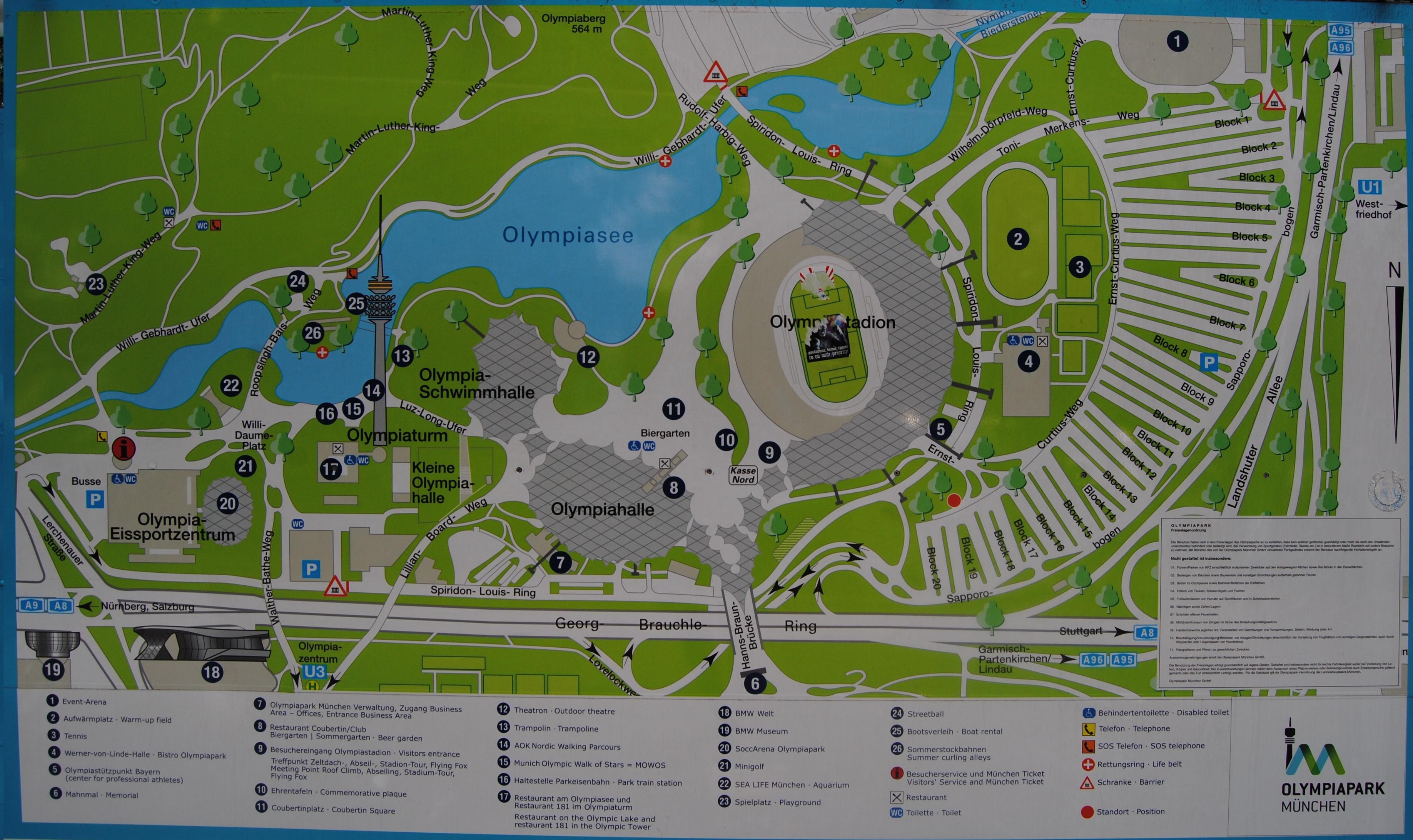 94 Homebush Olympic Park Address