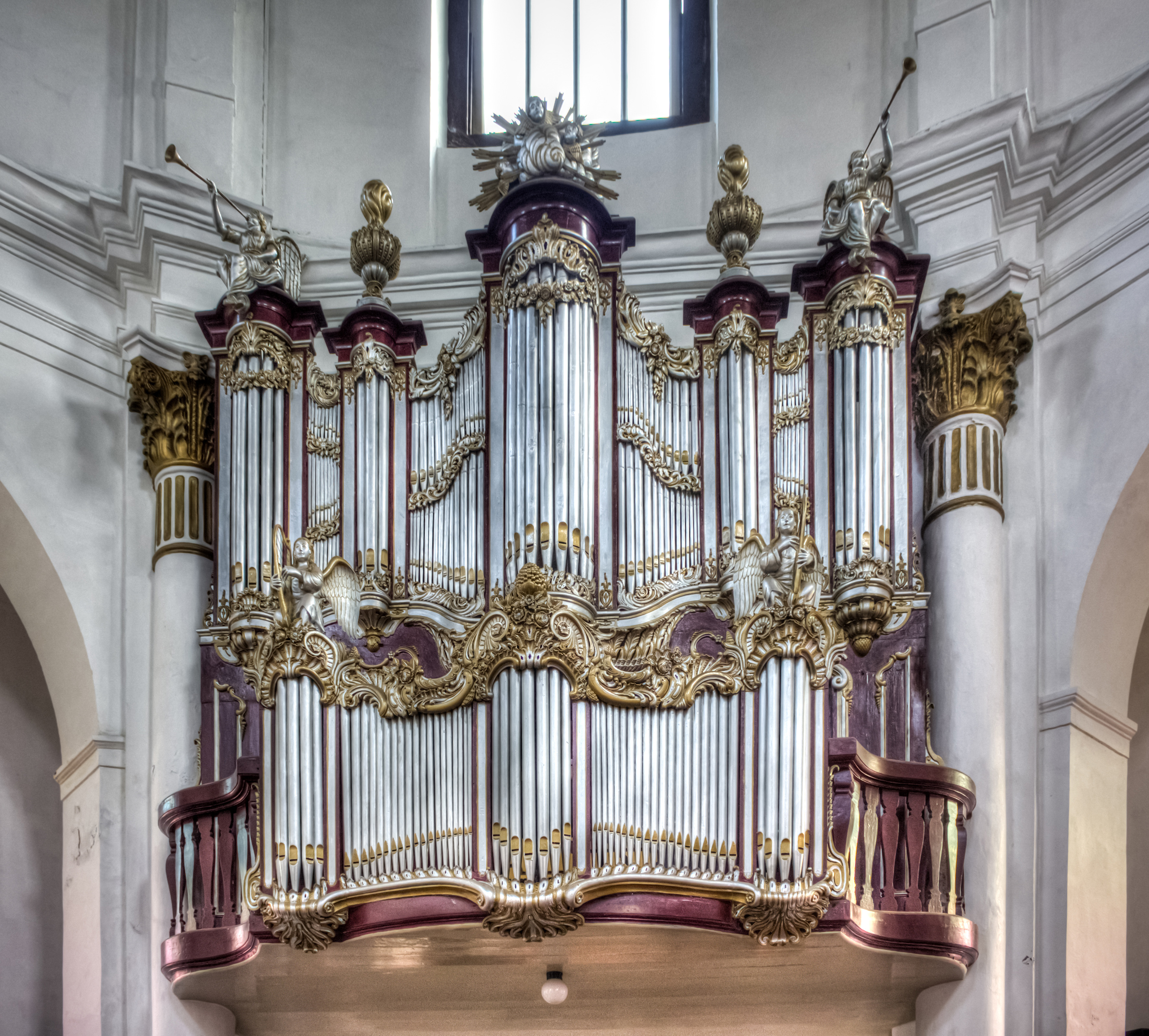 File:organ in Blenduk Church