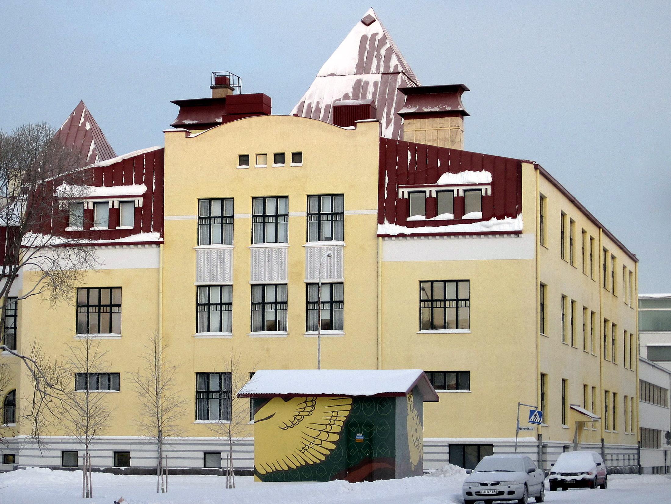 image of Oulun Suomalaisen Yhteiskoulun Lukio