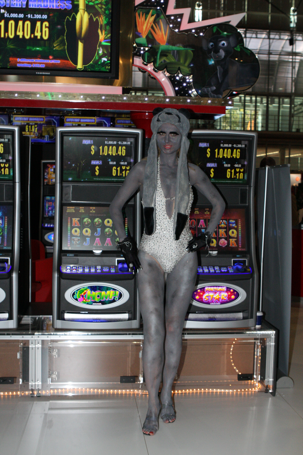 this provided more than ample opportunity for over 750 slot games on display. The Australasian Gaming Expo is by far the largest event of its type in Australia