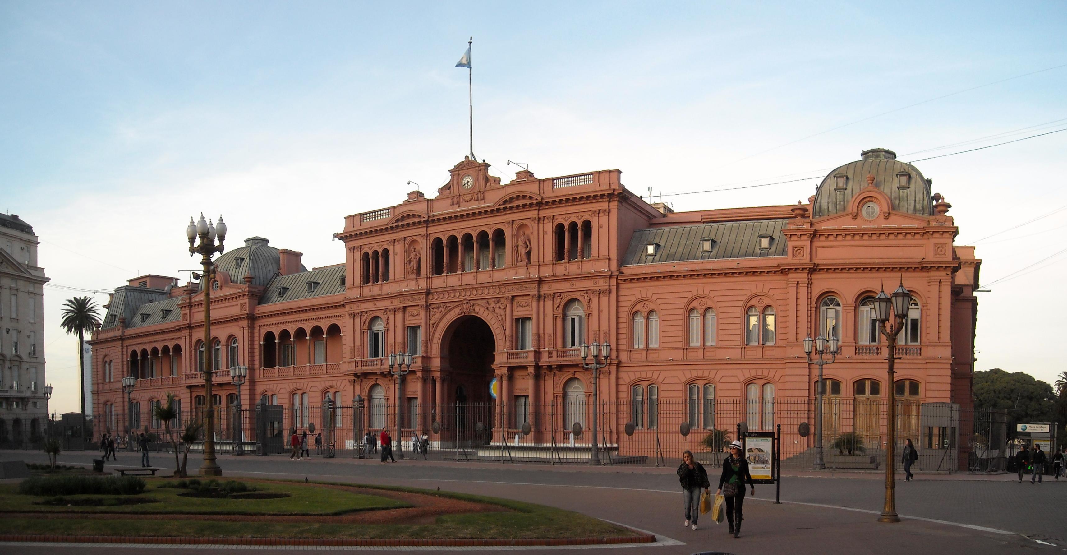 Sedes de los gobiernos de sudam rica y sus parlamentos for Casa argentina