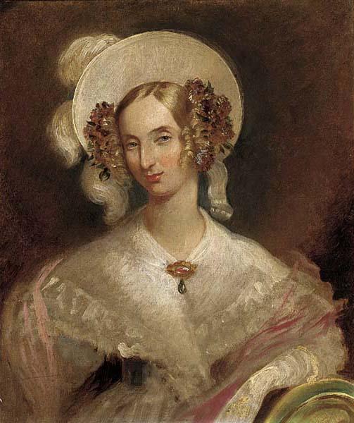 King Leopold I (1790-1865) and Queen Louise-Marie (1812-1850) Portrait_of_Queen_Louise_of_Belgium_%281812-1850%29%2C_Windsor_1837