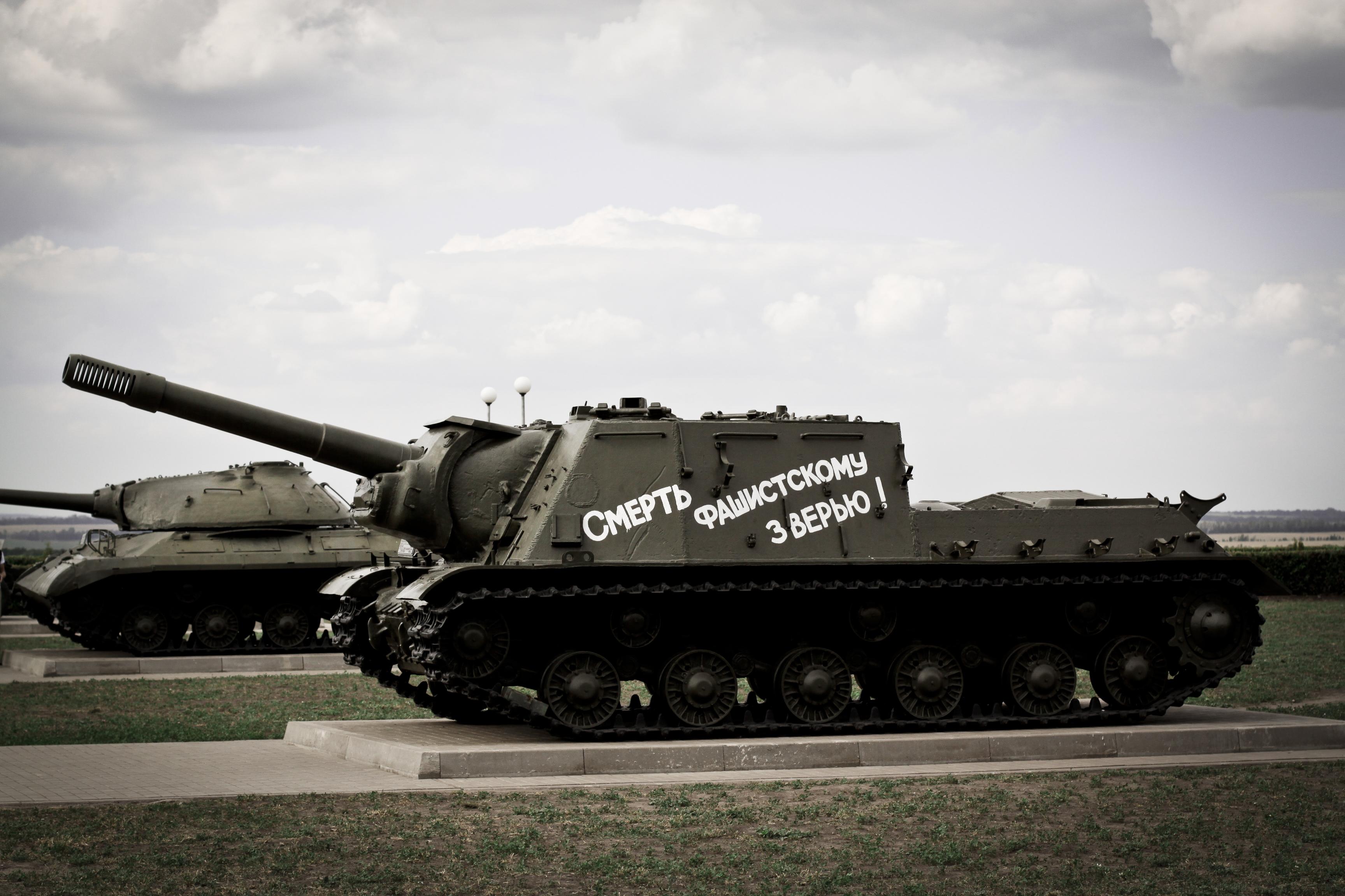 Prokhorovka's tank monument