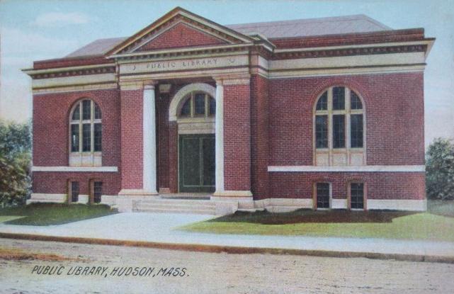 File:Public Library, Hudson, MA.jpg