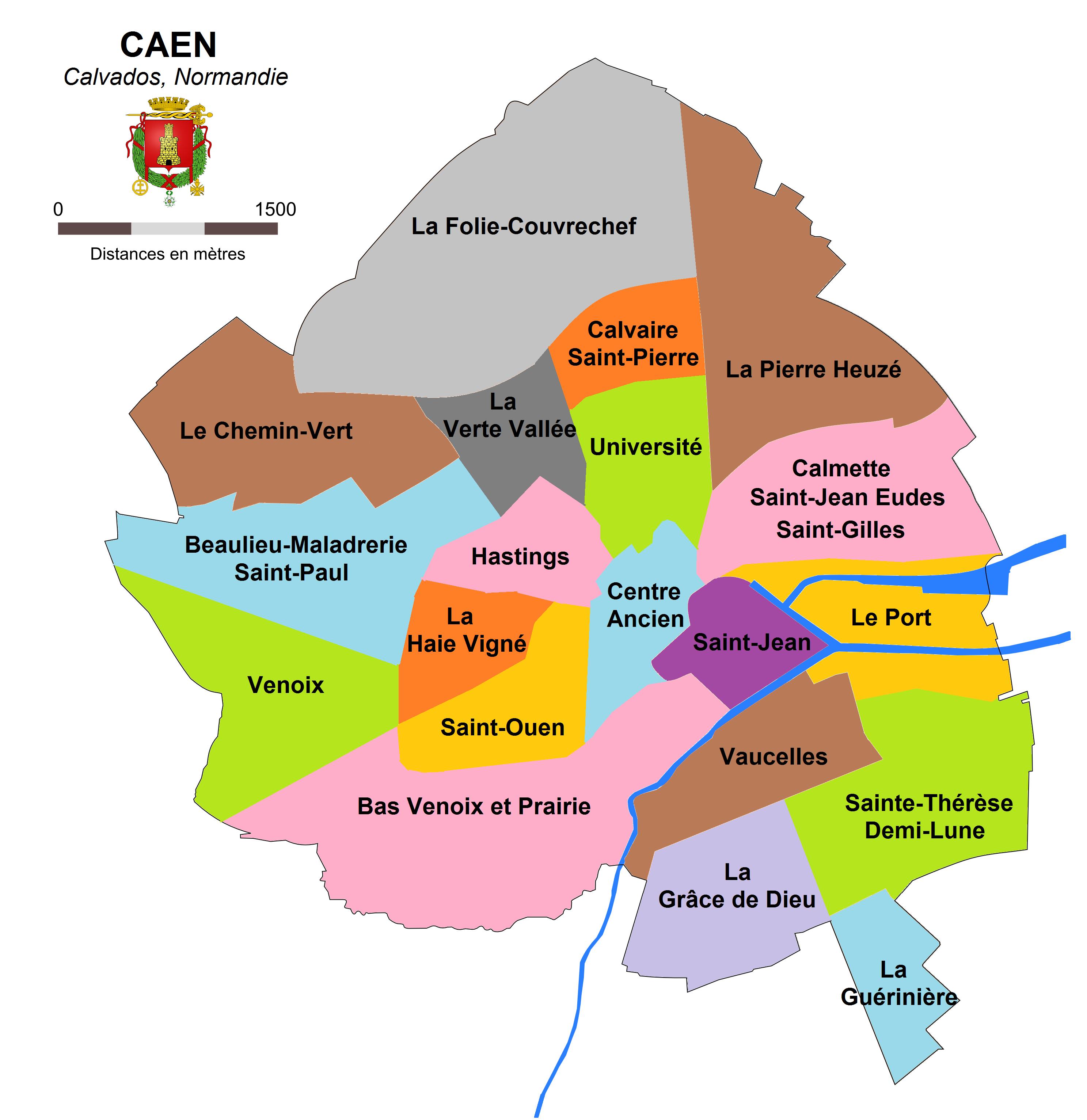 Itineraire La Ville De Mer Caen