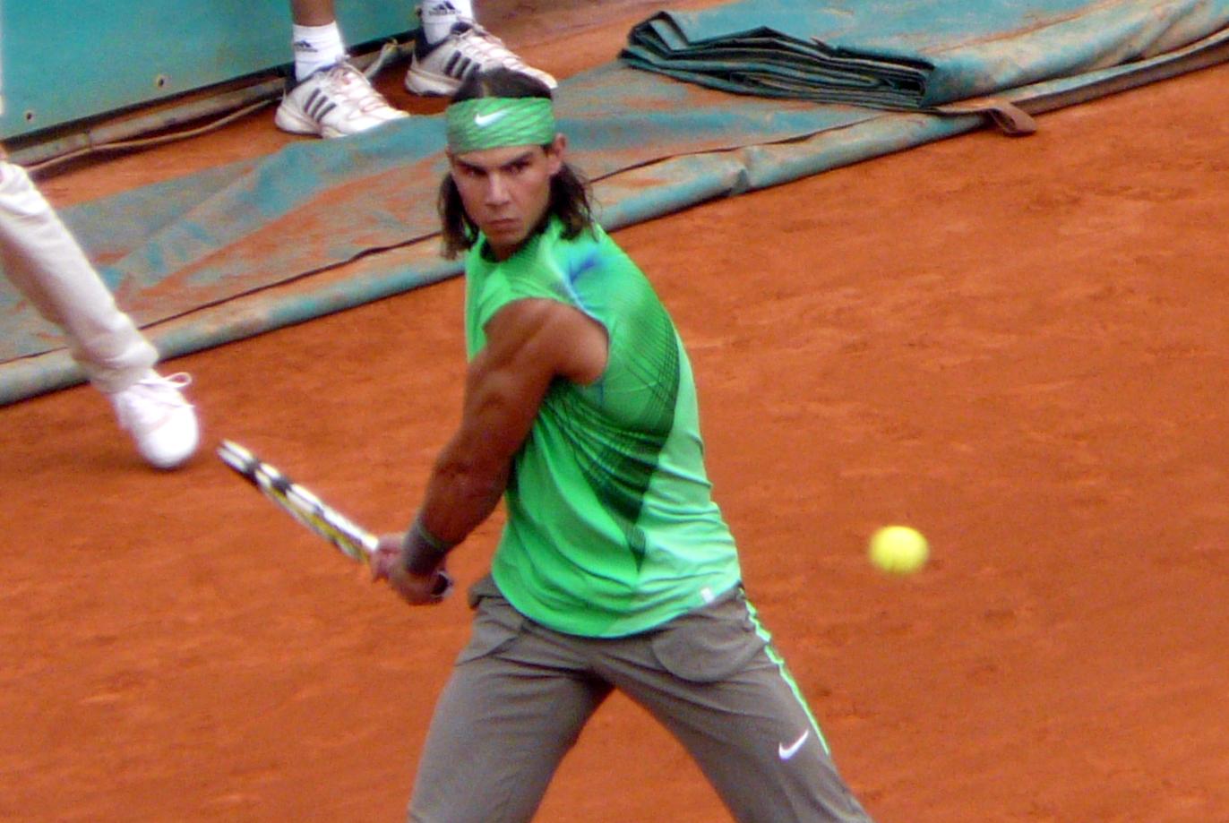 Nadal Wikipedia: File:Rafael Nadal At The 2008 French Open 11.jpg