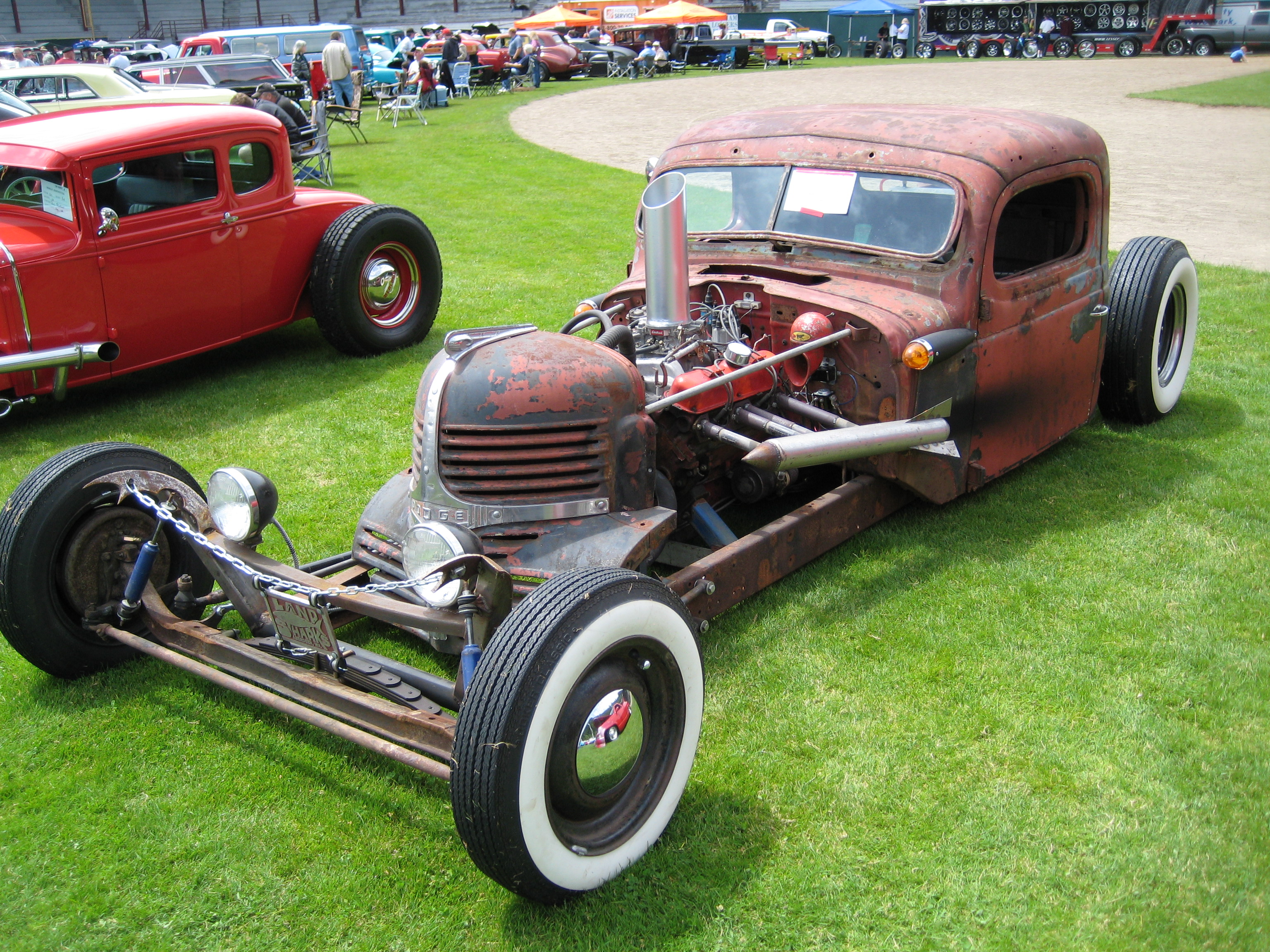 Rat Rod Car Show http://commons.wikimedia.org/wiki/File:Rat_Rod_Dodge.jpg