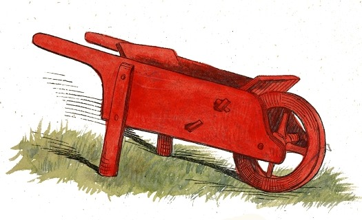 File red wheelbarrow wikimedia commons for Gardening tools wikipedia
