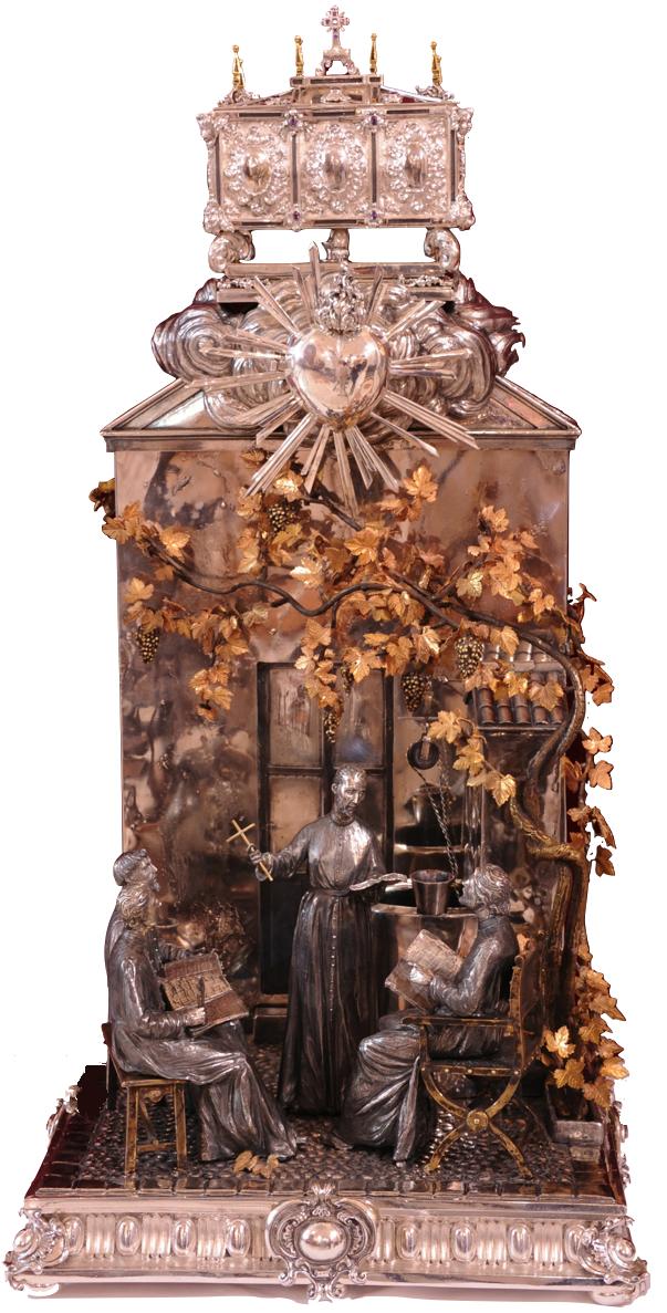 Omreisende relikvie som inneholder hjertet av San Juan de Ávila, som reiser gjennom de spanske bispedømmene
